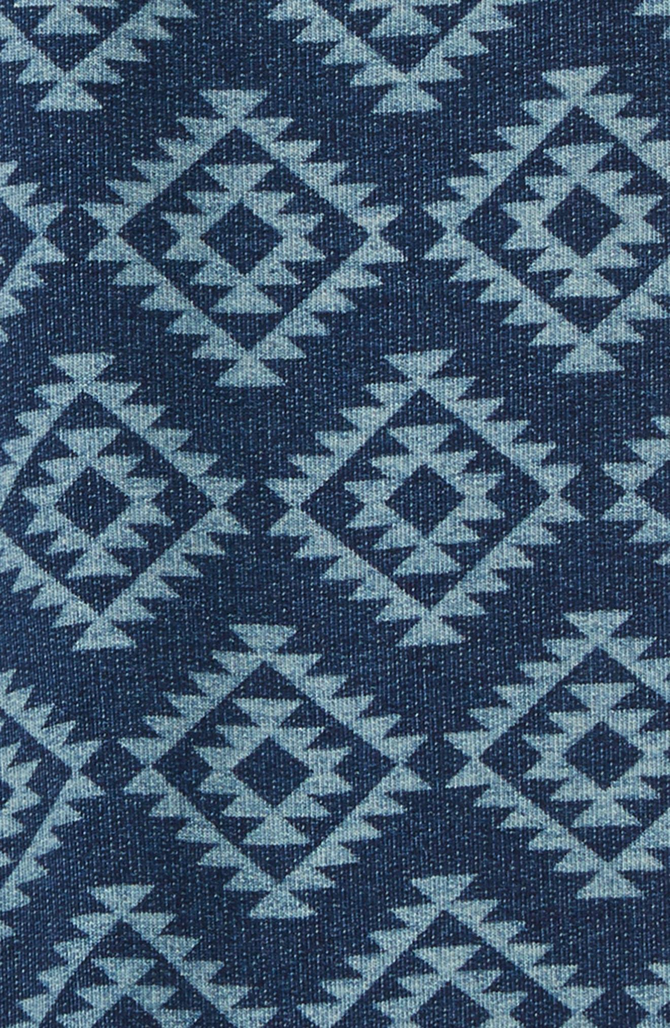 Brody Print Knit Shorts,                             Alternate thumbnail 2, color,                             Yuma