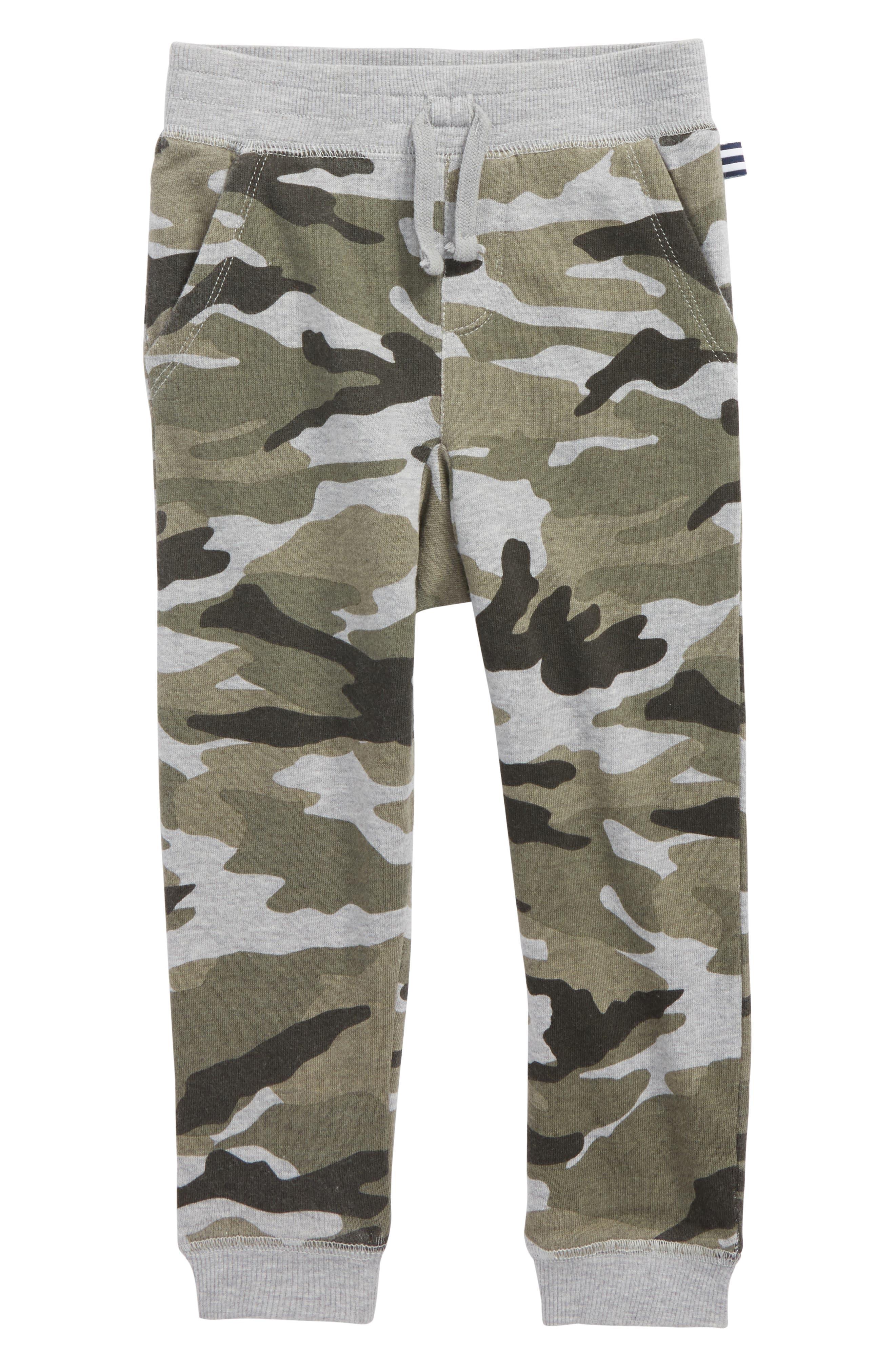 Camo Sweatpants,                         Main,                         color, Dark Heather Grey