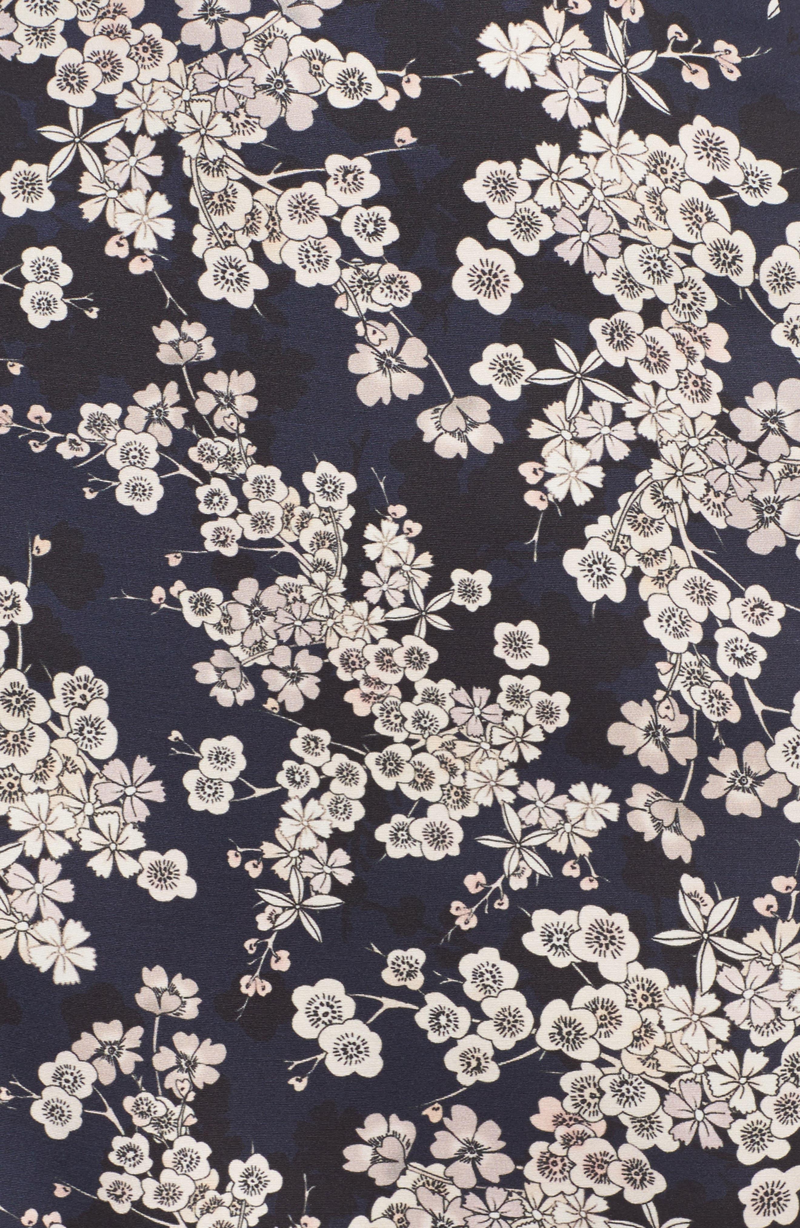 Rishiri Sheath Dress,                             Alternate thumbnail 6, color,                             Nocturnal Multi