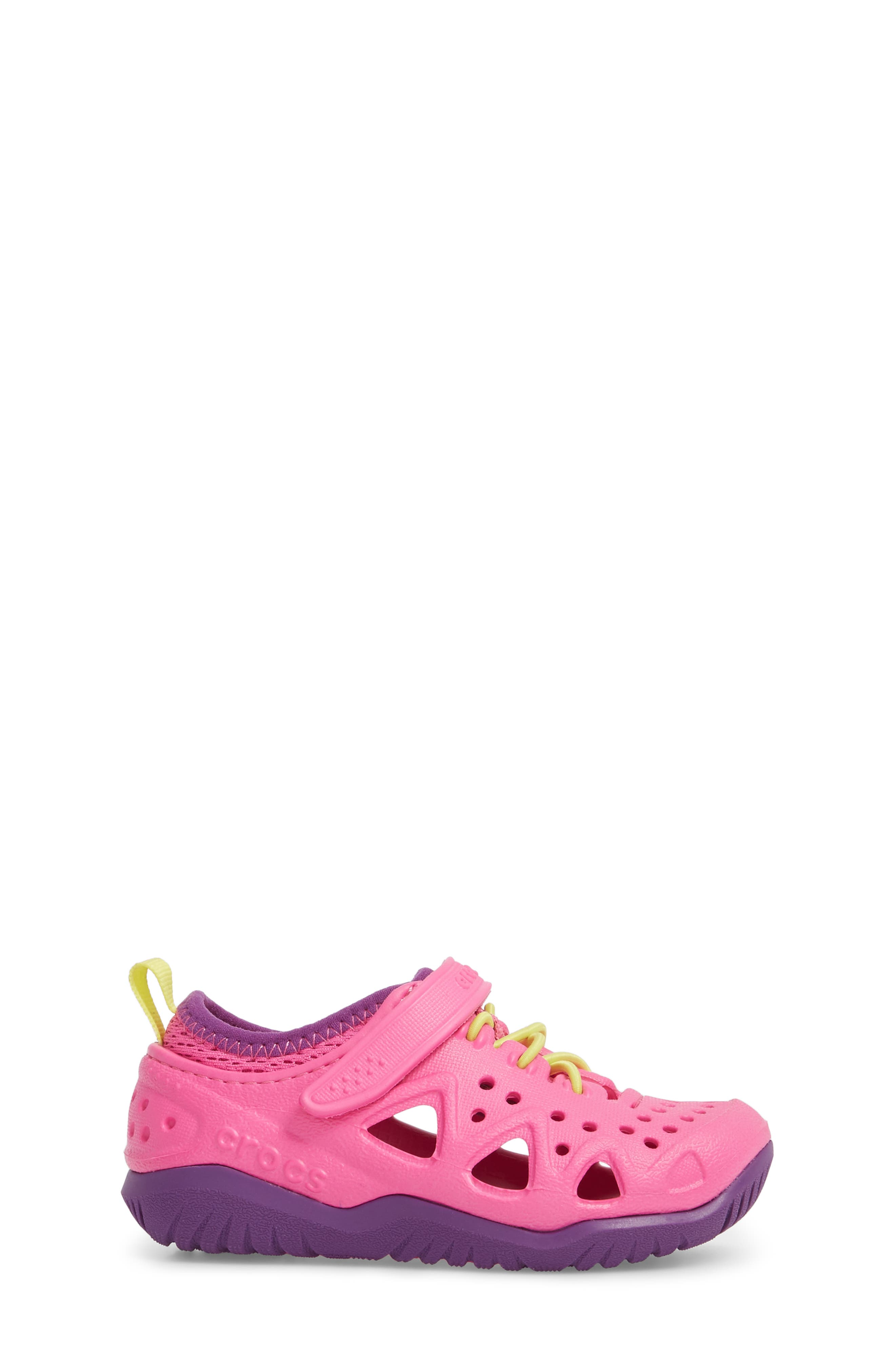 Swiftwater Water Friendly Sneaker,                             Alternate thumbnail 3, color,                             Neon Magenta