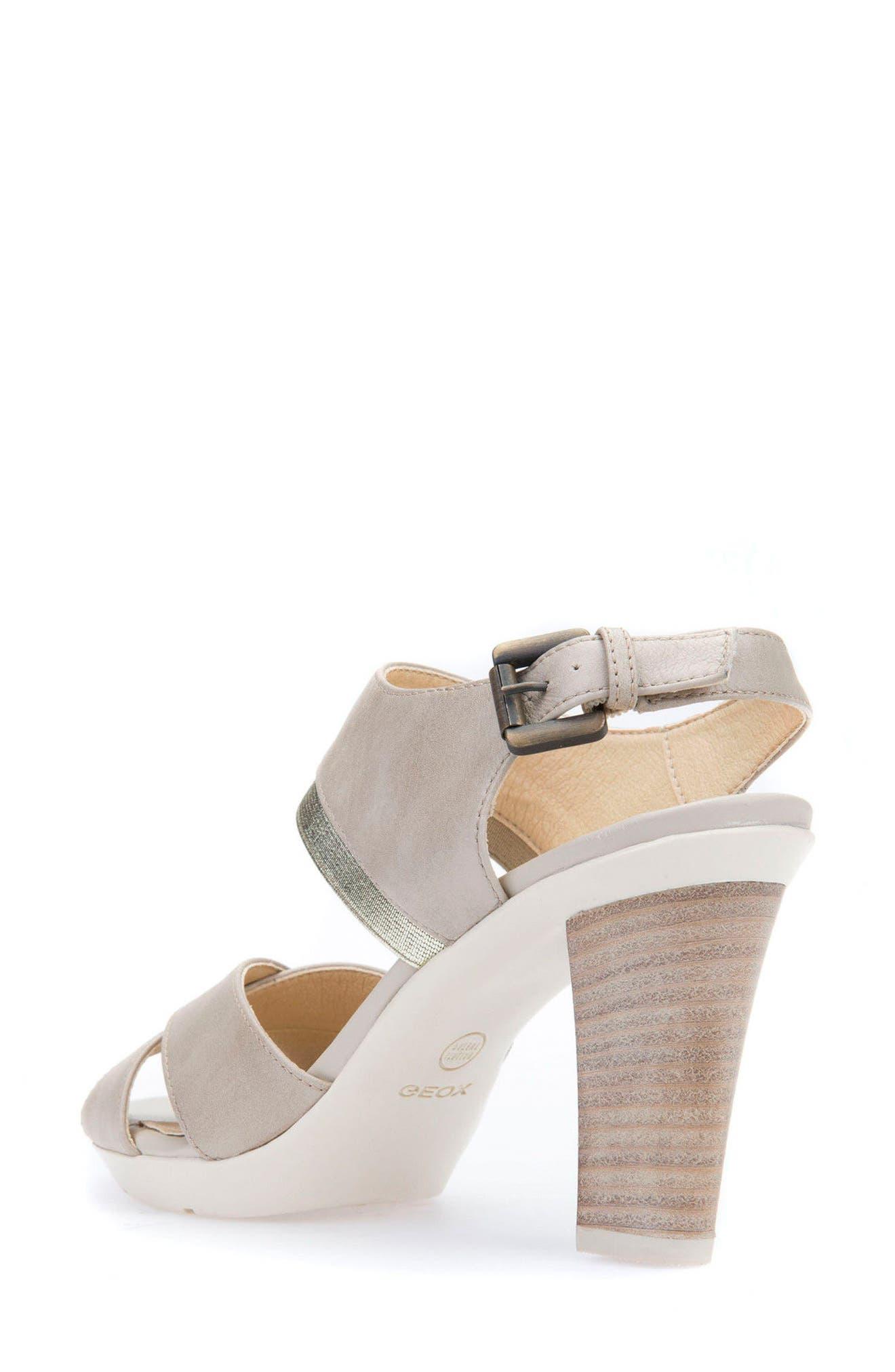 Jadlis Sandal,                             Alternate thumbnail 2, color,                             Beige Leather