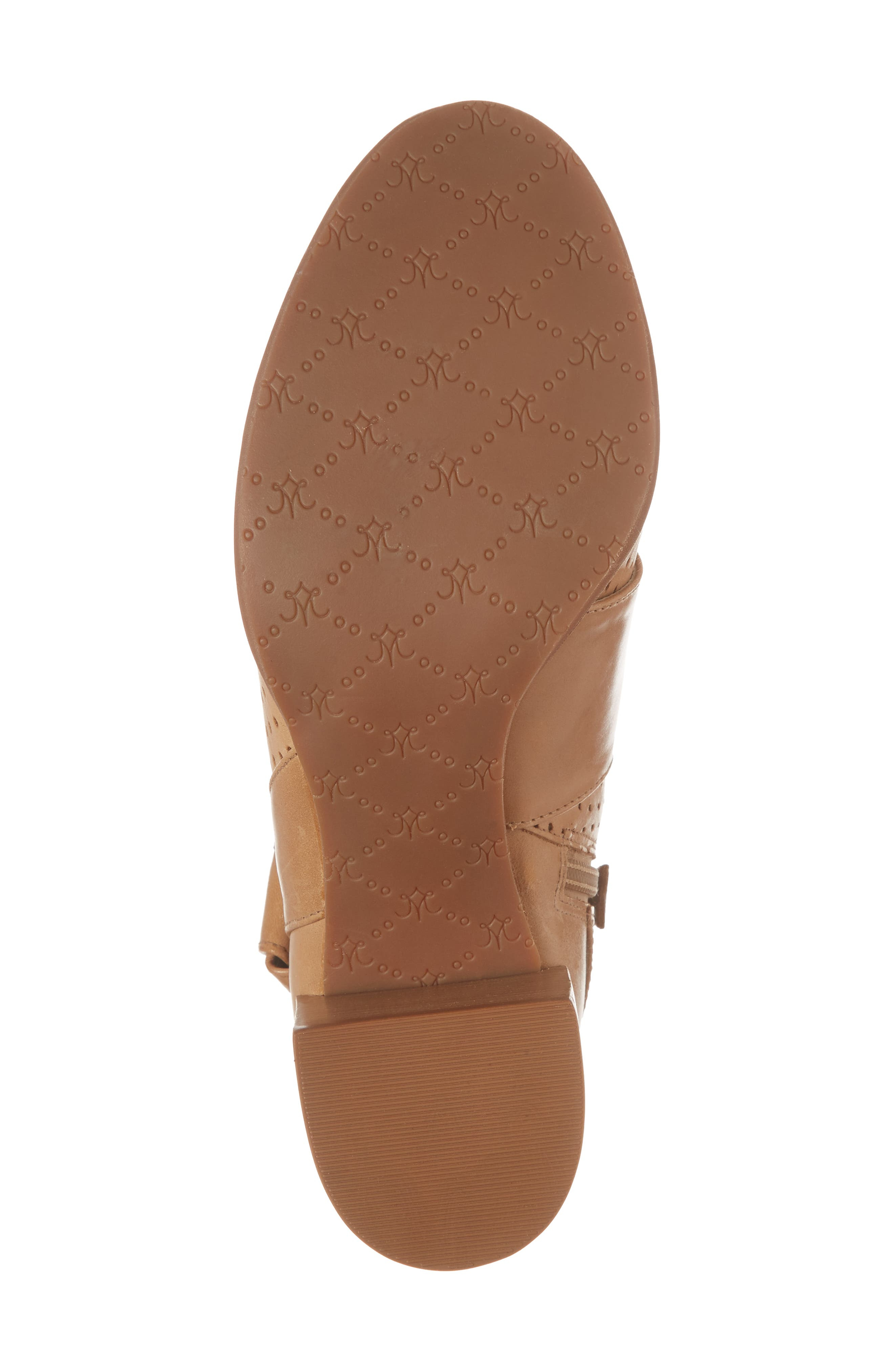 Felice Bootie,                             Alternate thumbnail 6, color,                             Tan Leather