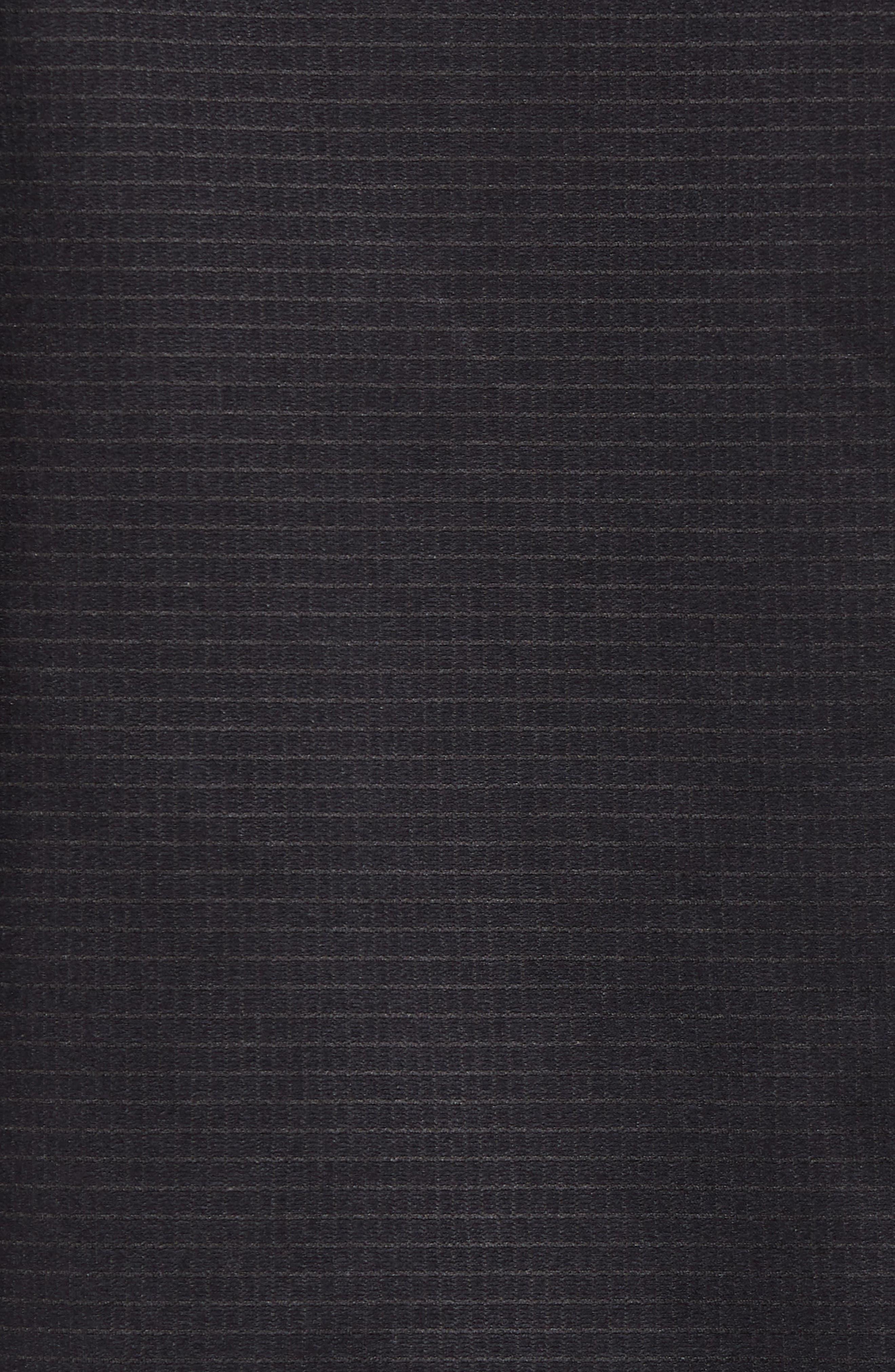 Ampere Zip Front Fleece Hoodie,                             Alternate thumbnail 5, color,                             Black