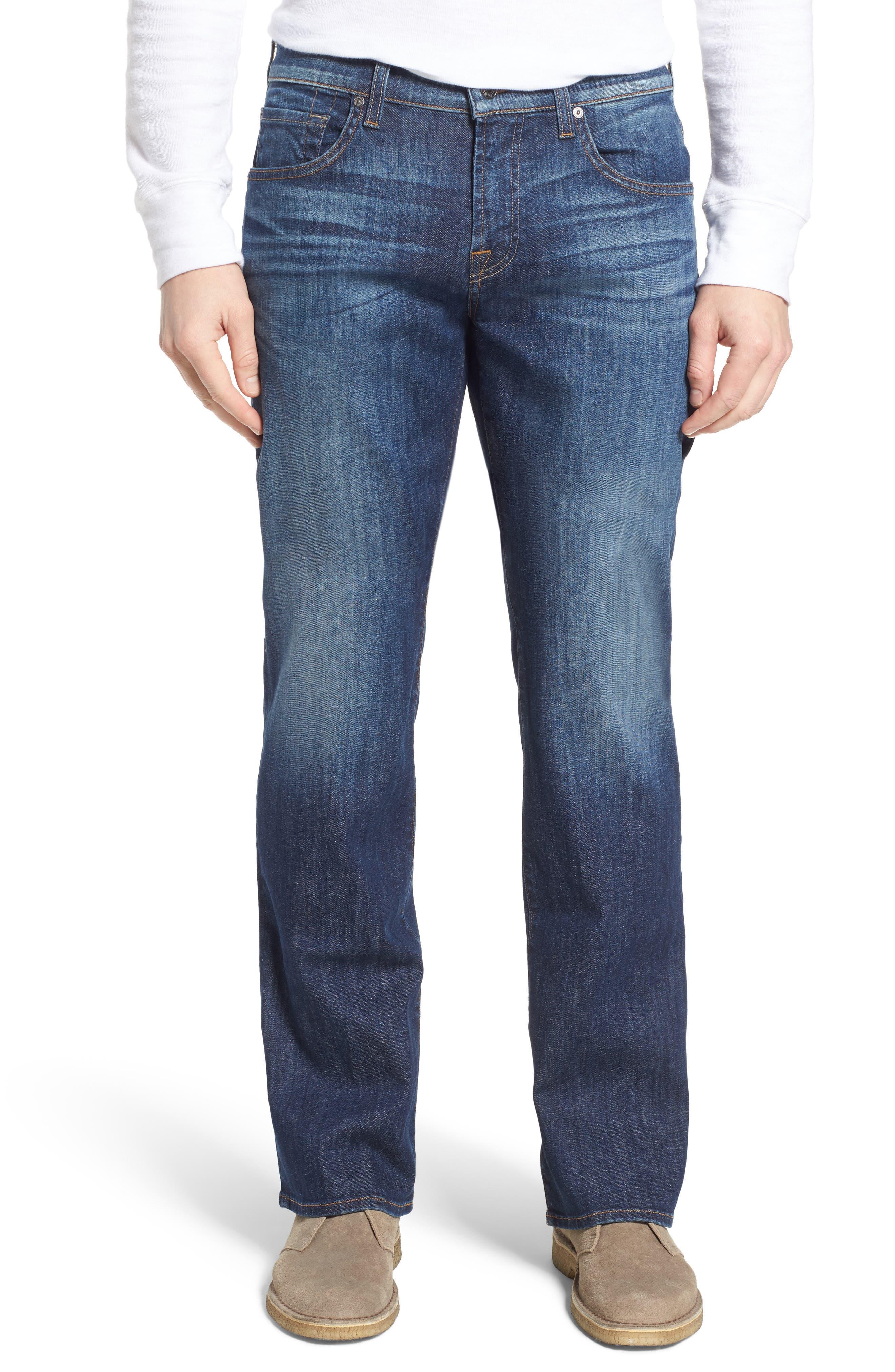 Brett Bootcut Jeans,                         Main,                         color, West Indies