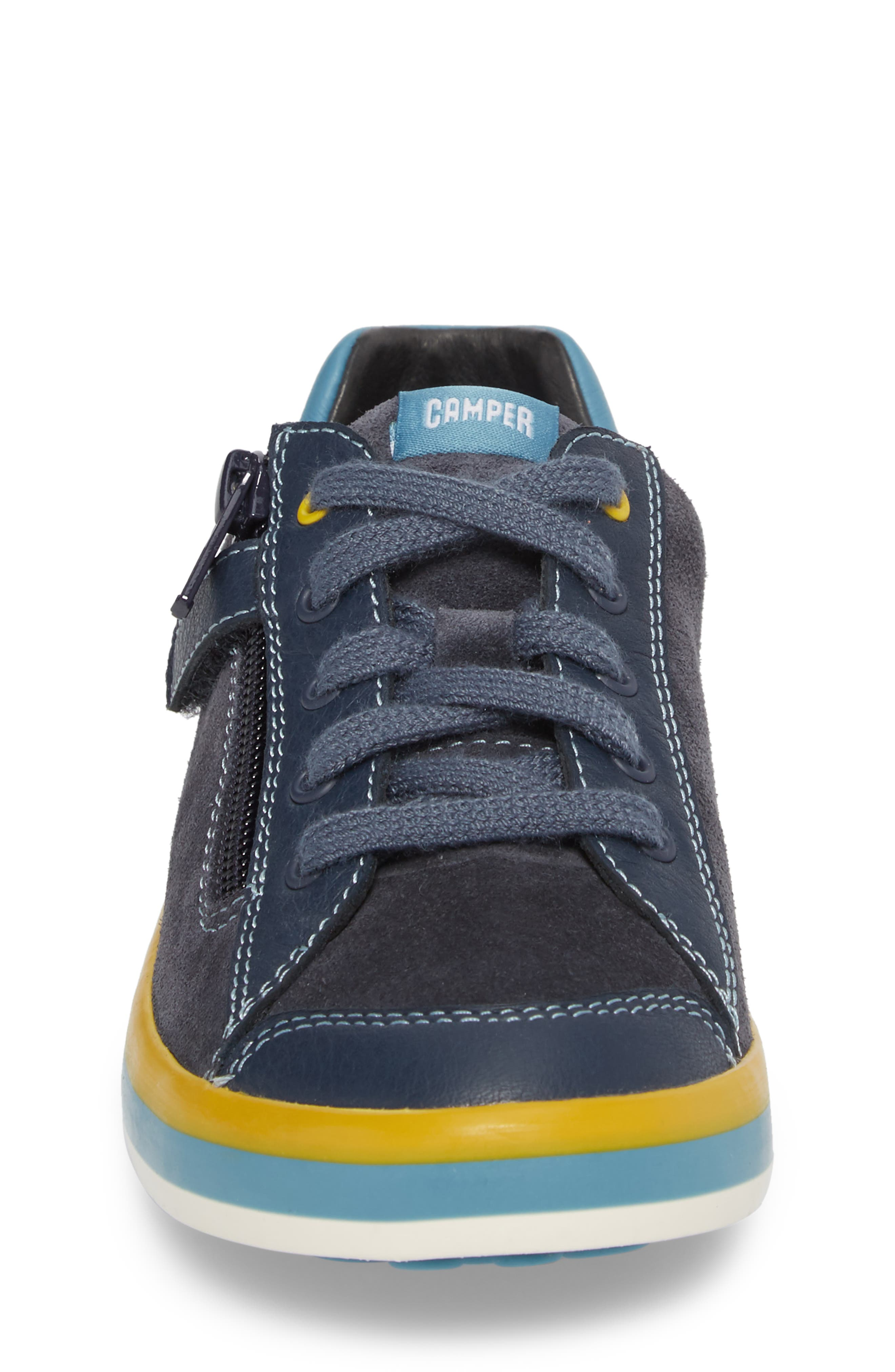 Pursuit Sneaker,                             Alternate thumbnail 4, color,                             Blue