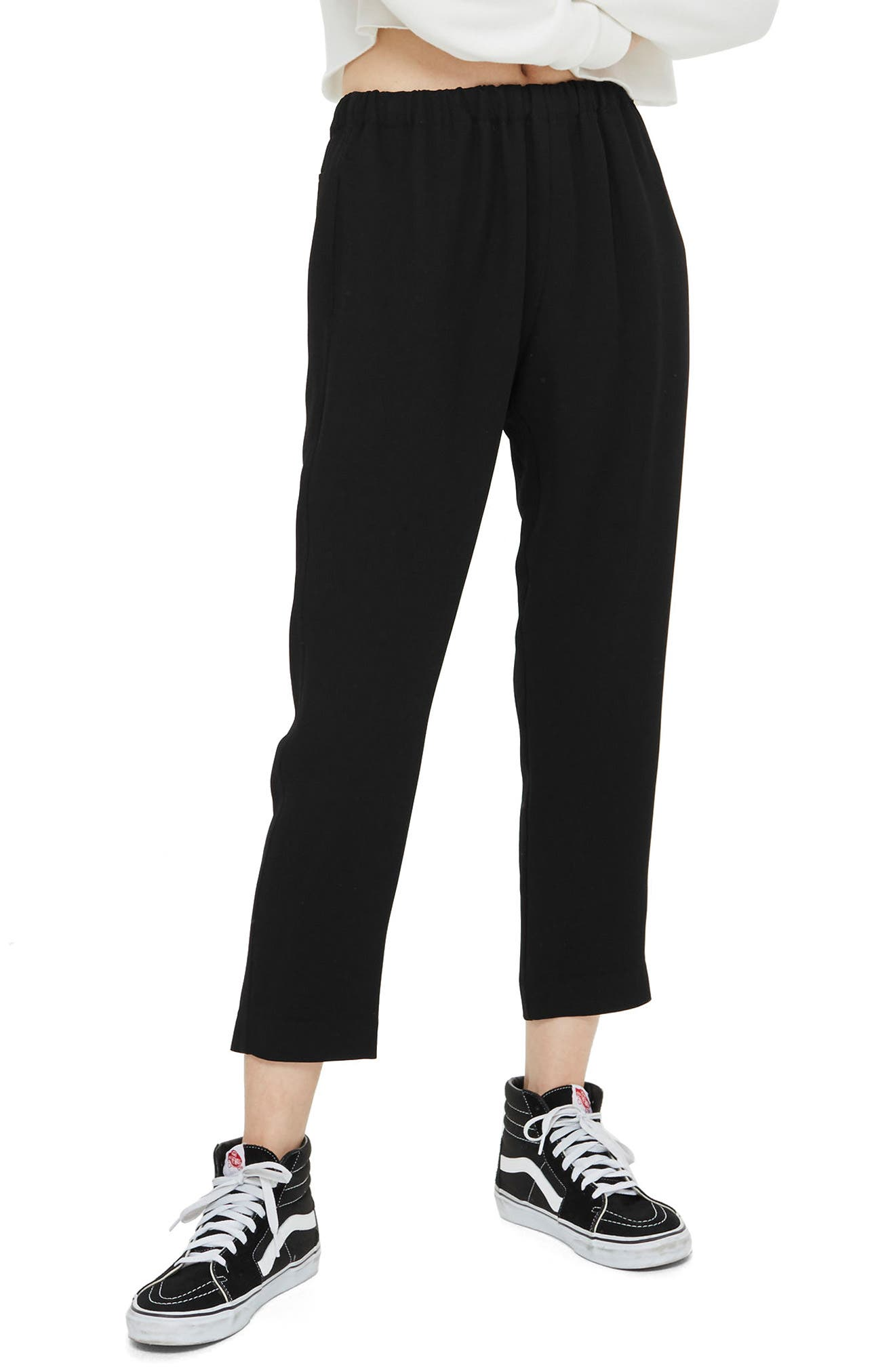 Alternate Image 1 Selected - Topshop Boutique Drawcord Jogger Pants