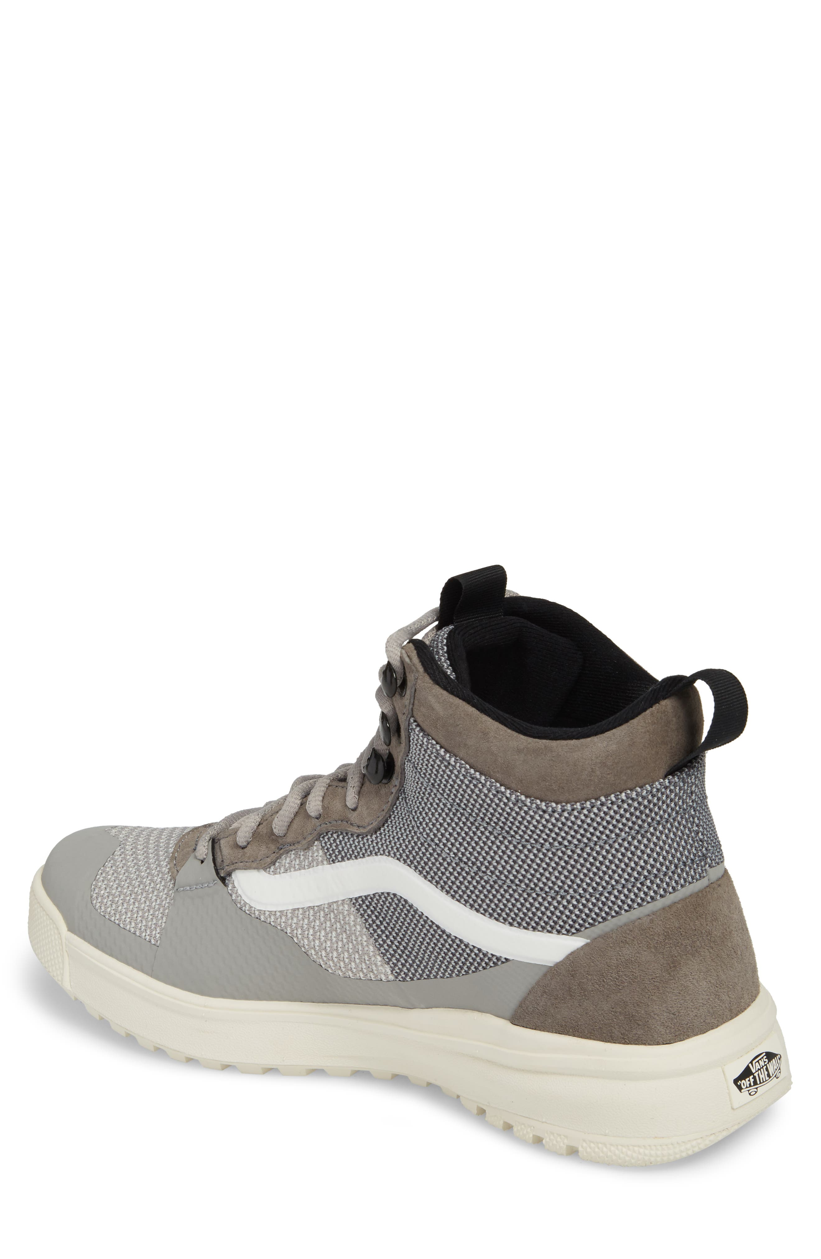 UltraRange DX High Top Sneaker,                             Alternate thumbnail 2, color,                             Pewter/ Drizzle