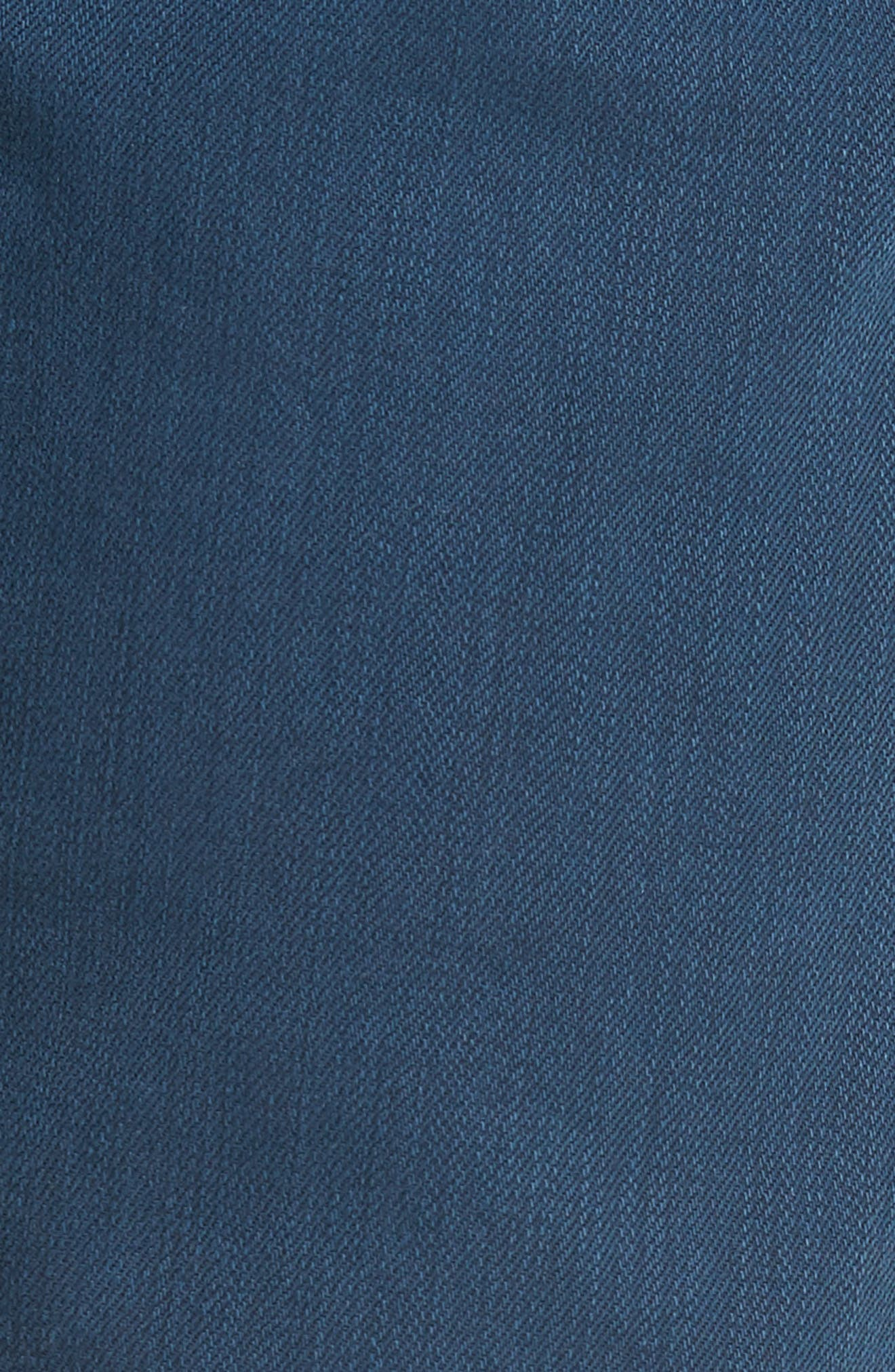 Jimmy Slim Straight Leg Jeans,                             Alternate thumbnail 5, color,                             Marina Blue