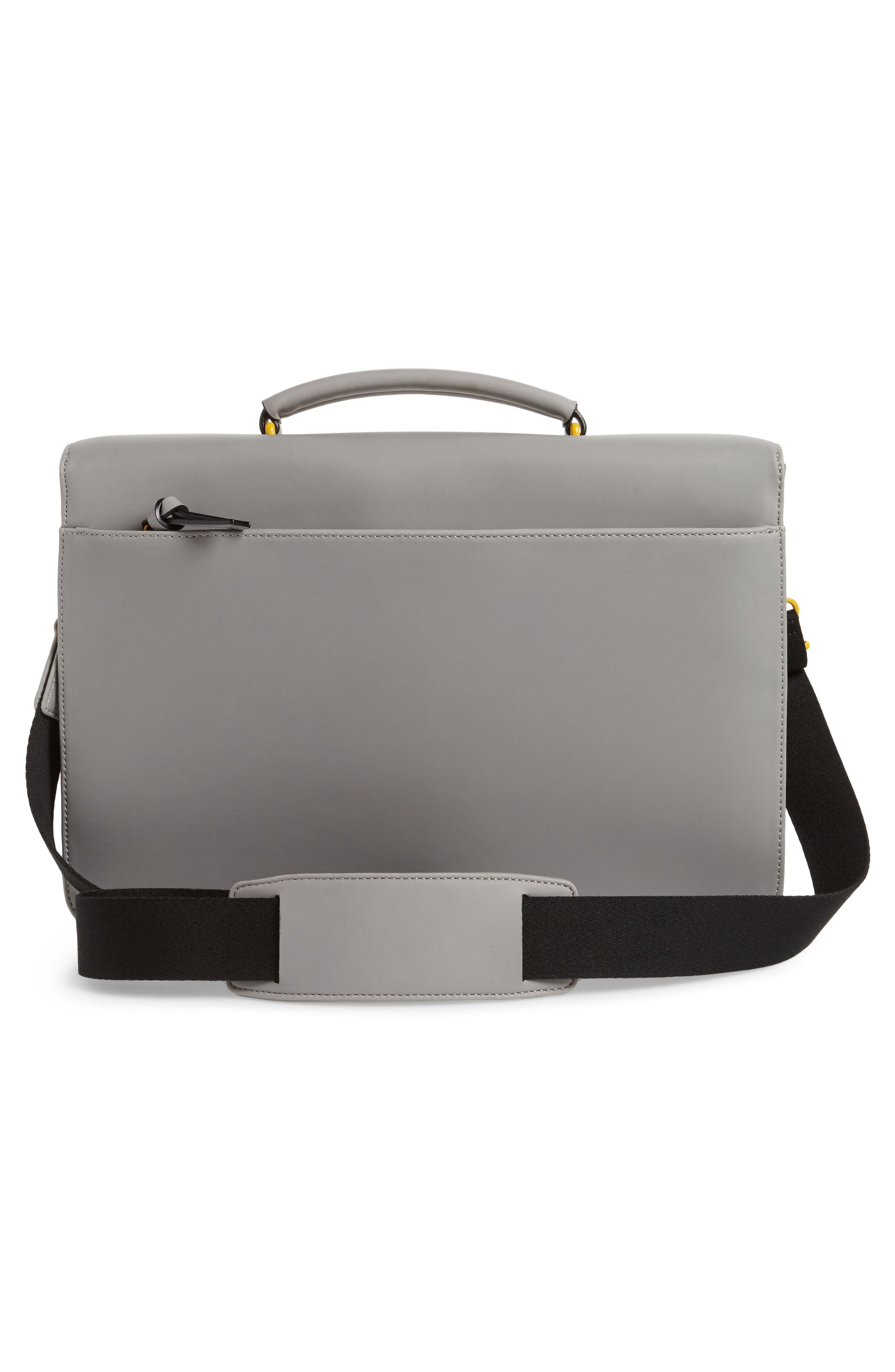Alternate Image 3  - Ted Baker London Barma Rubberized Briefcase