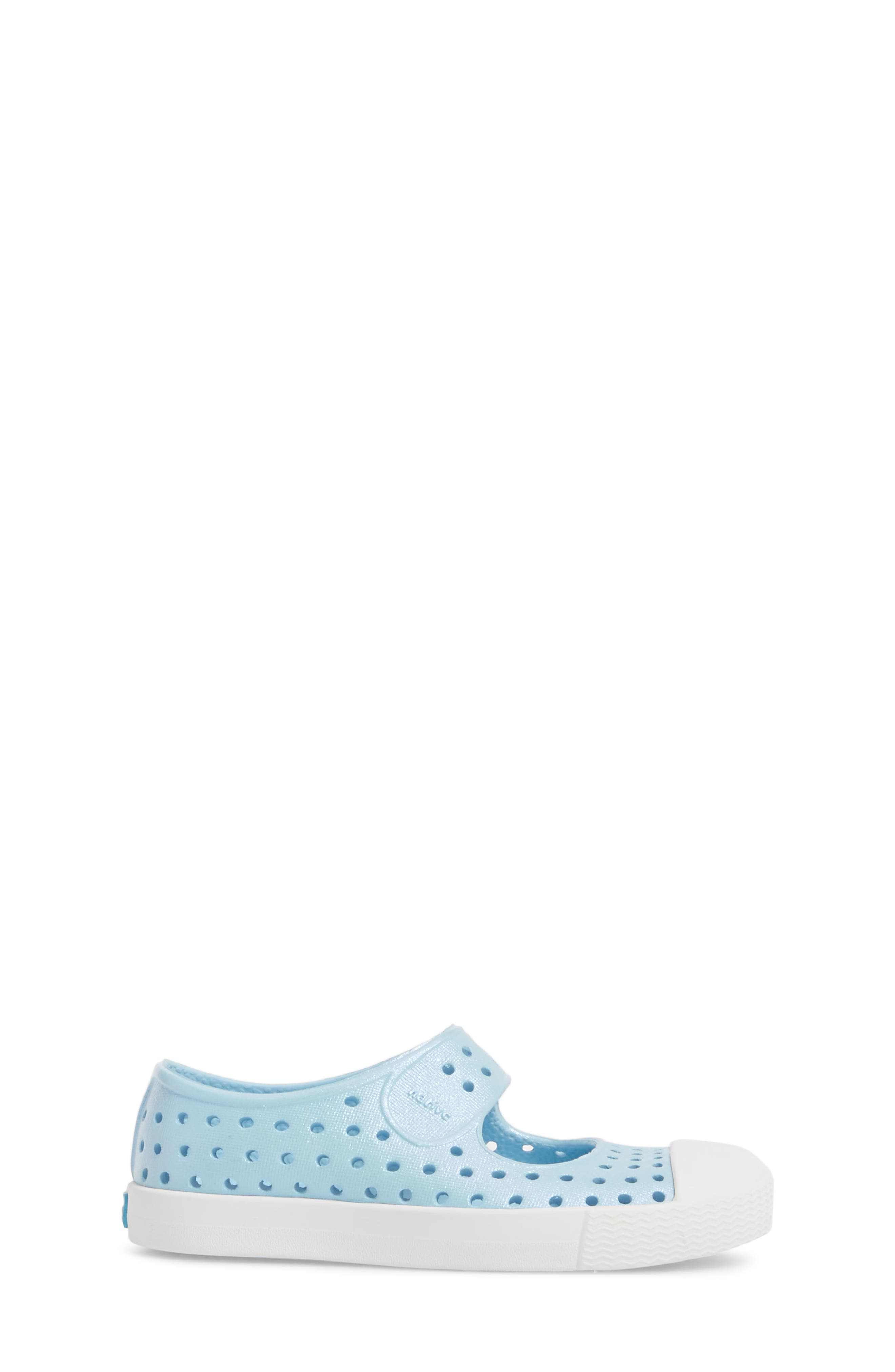 Juniper Perforated Mary Jane,                             Alternate thumbnail 3, color,                             Sky Blue/ White/ Galaxy