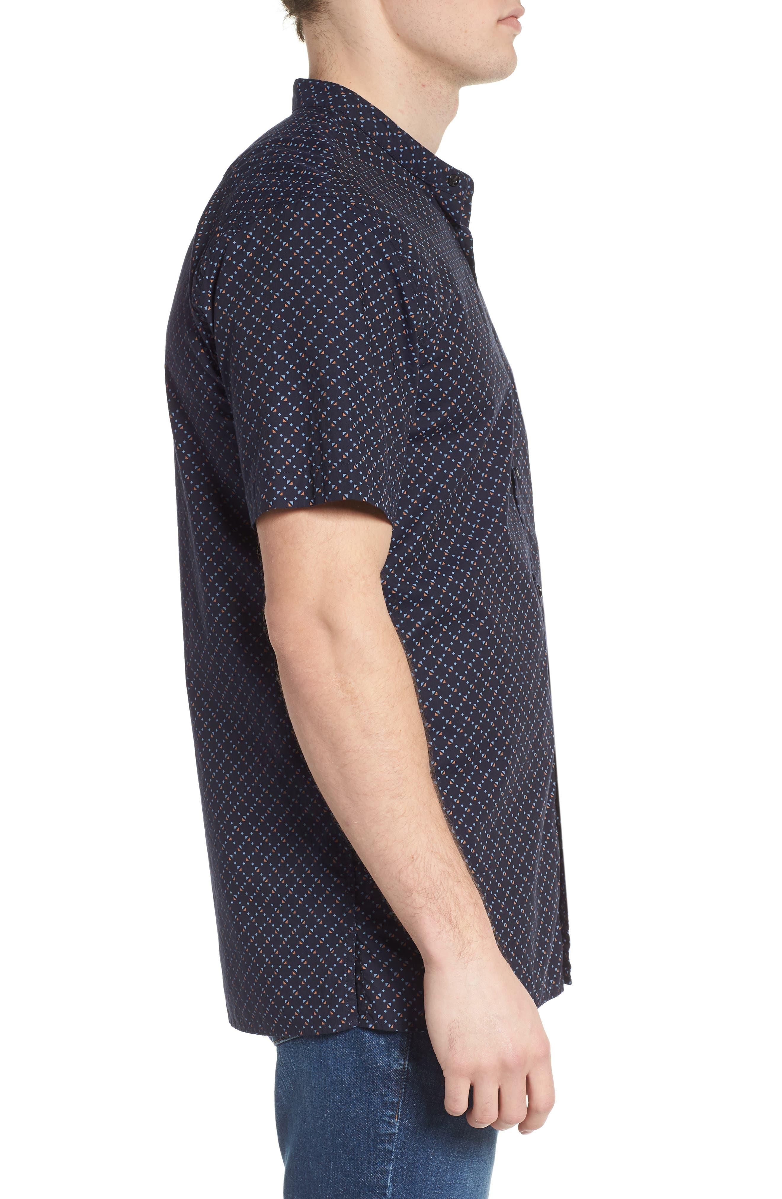 Woven Oxford Shirt,                             Alternate thumbnail 4, color,                             Combo F