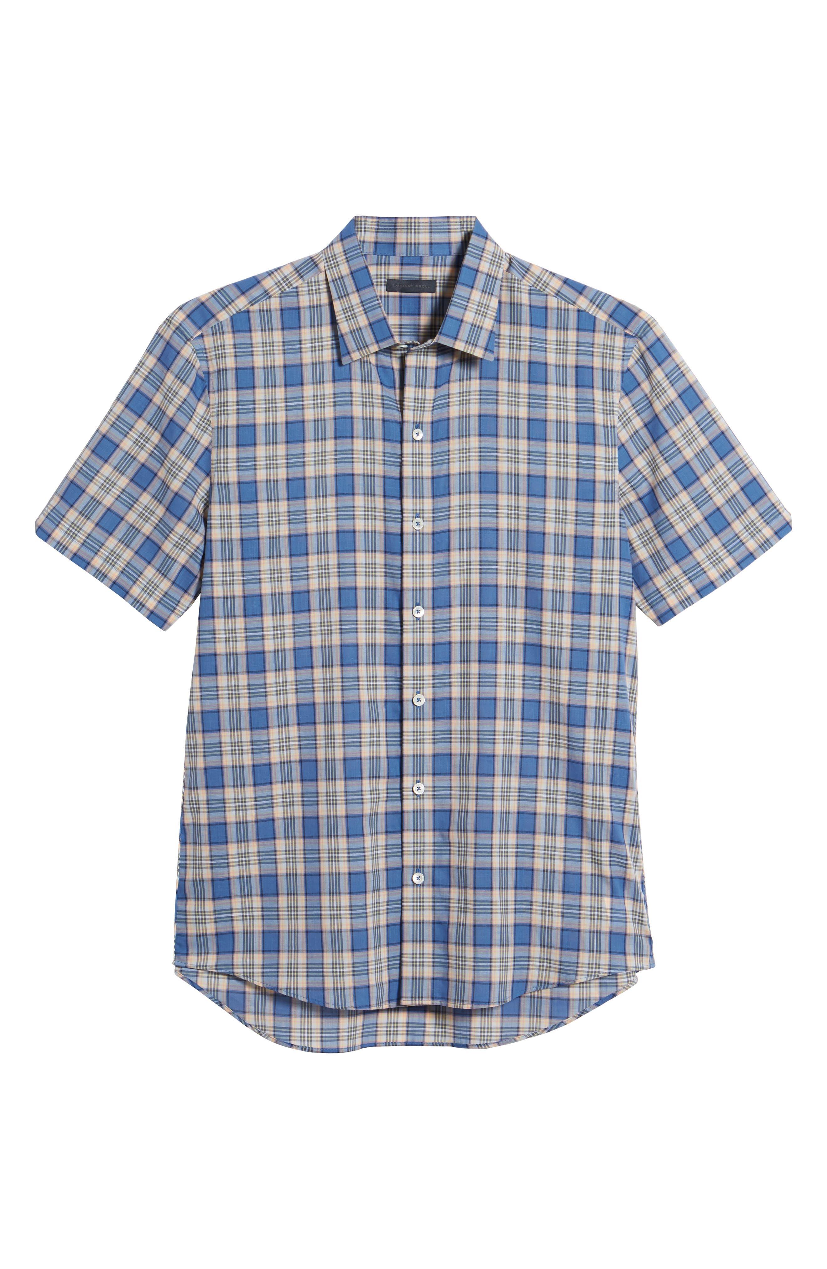 Alternate Image 6  - Zachary Prell Carter Plaid Sport Shirt