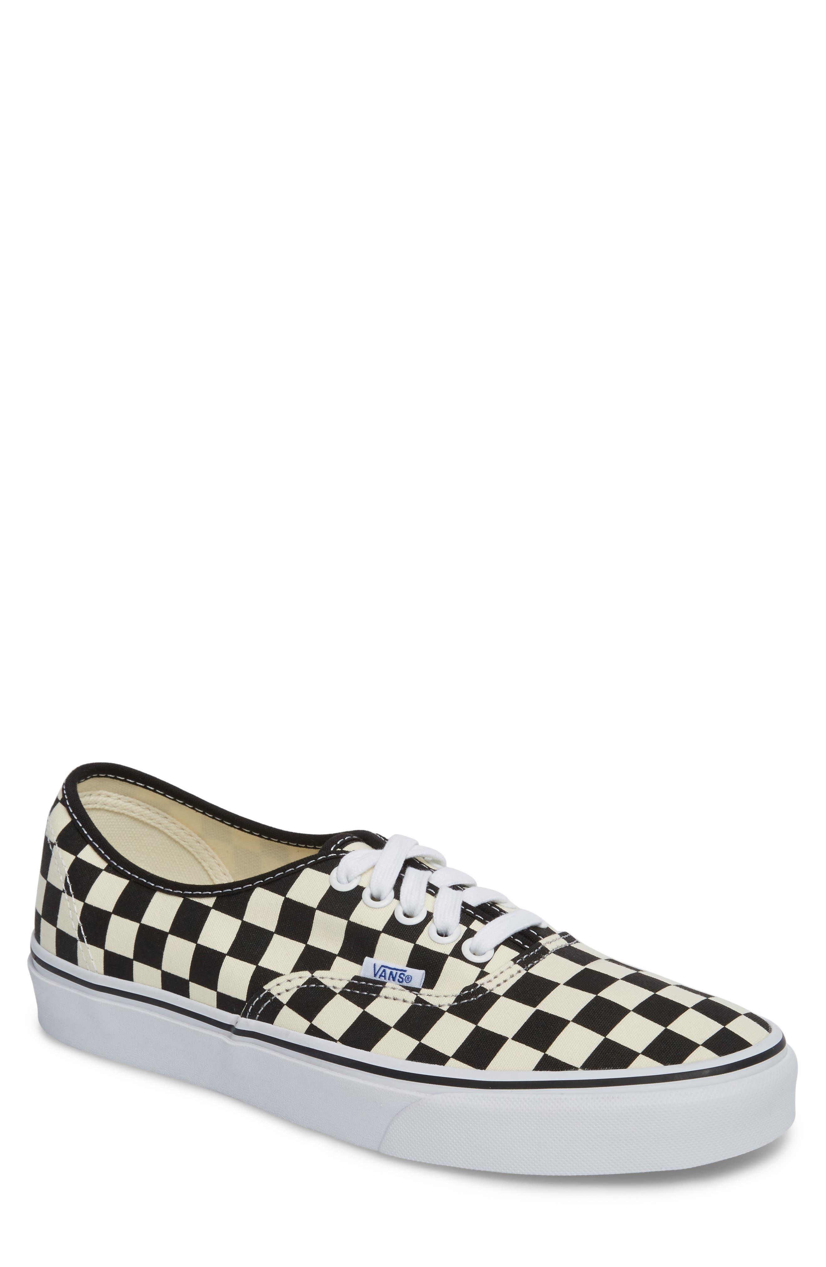 Authentic Golden Coast Sneaker,                         Main,                         color, Black/ White Checker