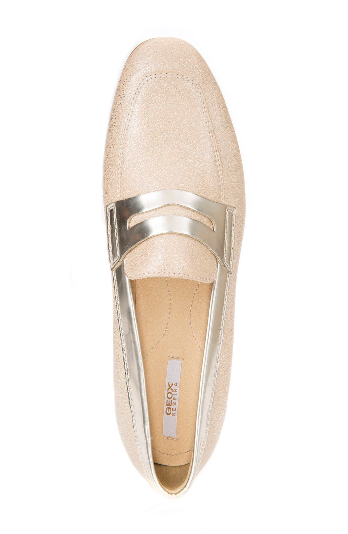 Alternate Image 4  - Geox Marlyna Penny Loafer (Women)