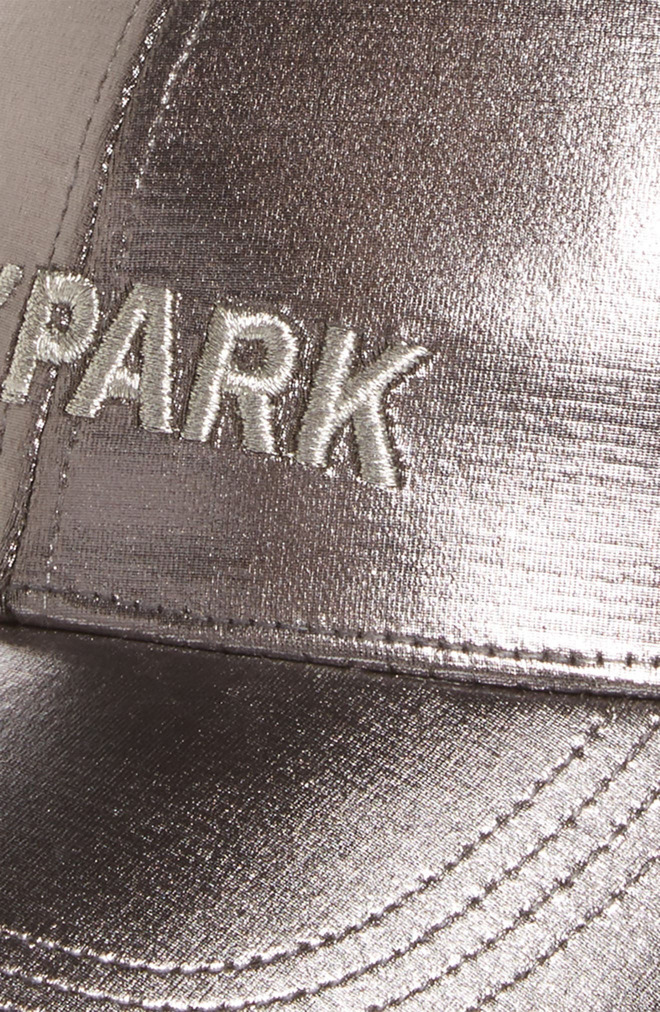 Alternate Image 3  - IVY PARK® Adjustable Metallic Baseball Cap