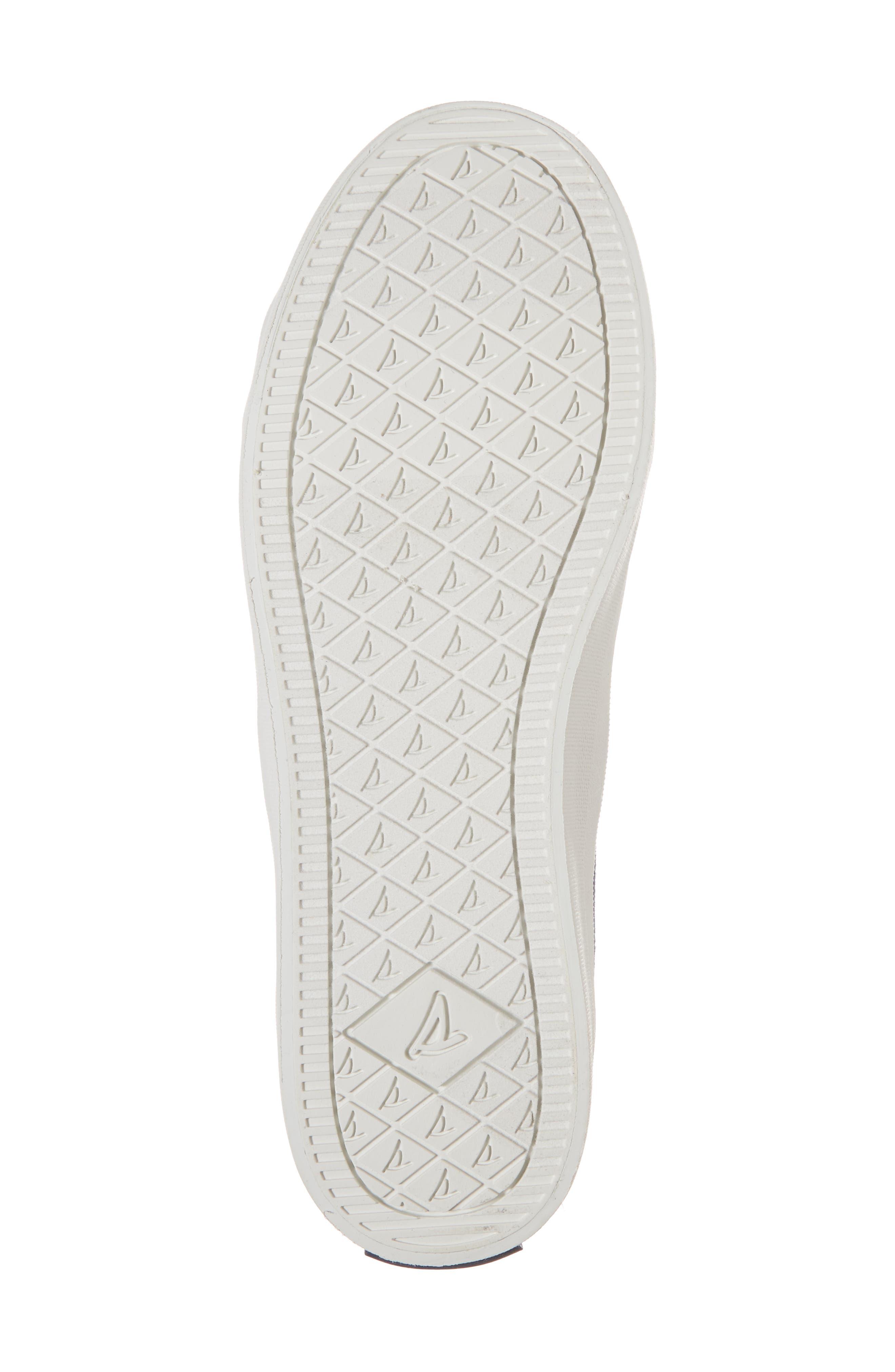 Crest Vibe Slip-On Sneaker,                             Alternate thumbnail 6, color,                             Navy Buoy Stripe Canvas