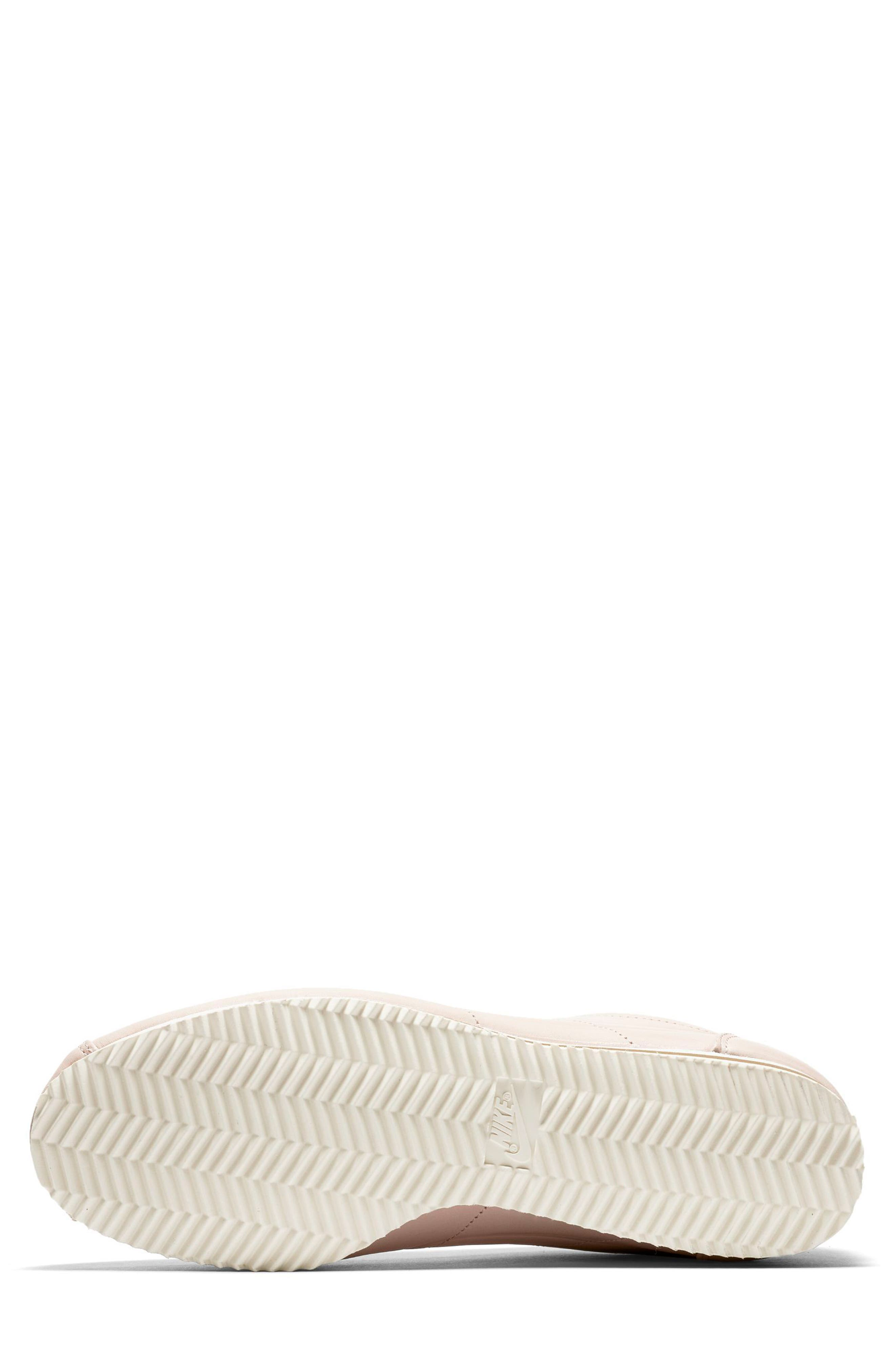 x Maria Sharapova LA Cortez Premium Sneaker,                             Alternate thumbnail 5, color,                             Particle Beige/Particle Beige
