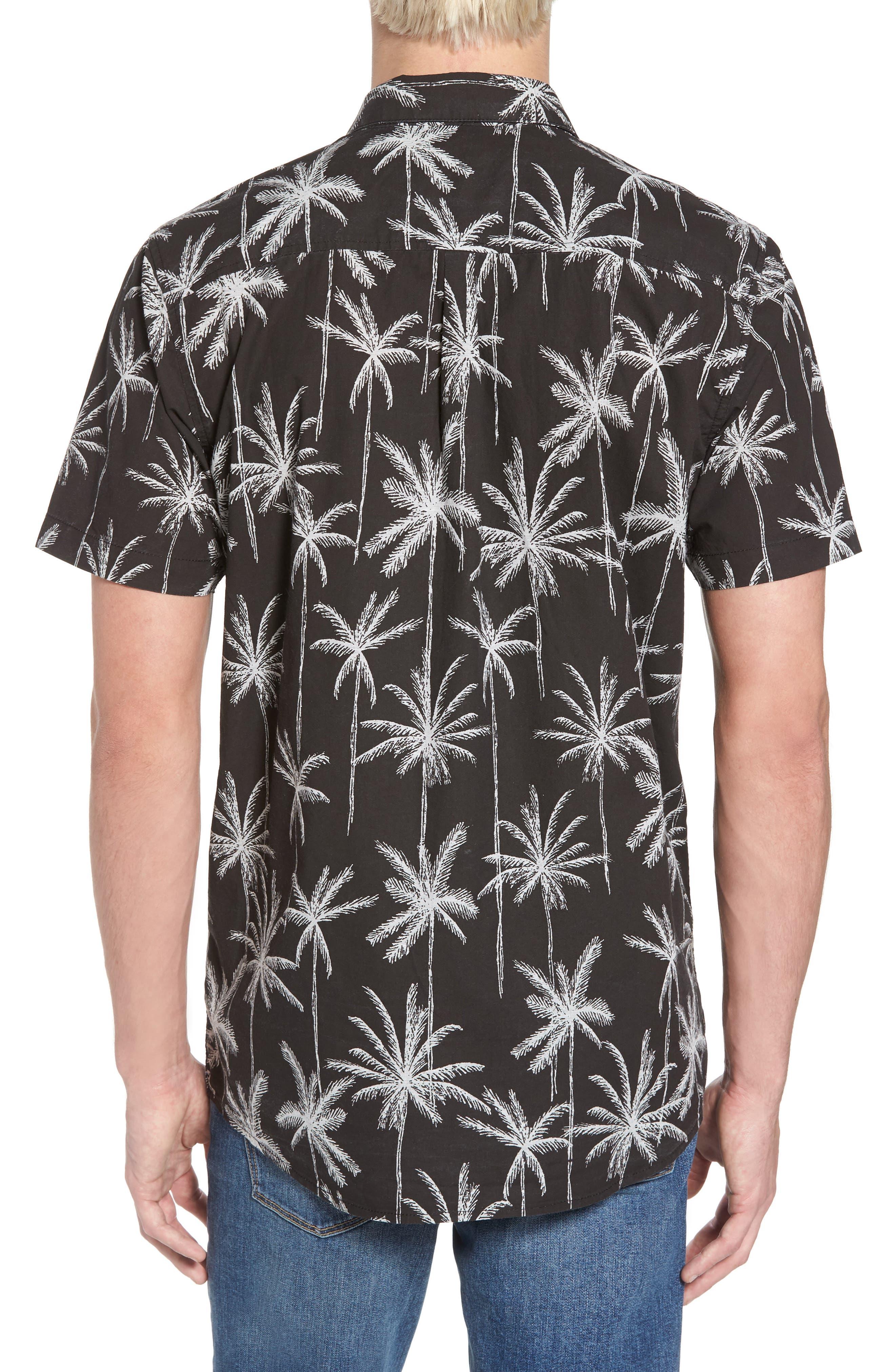 Alternate Image 2  - Rip Curl Palm Trip Short Sleeve Shirt