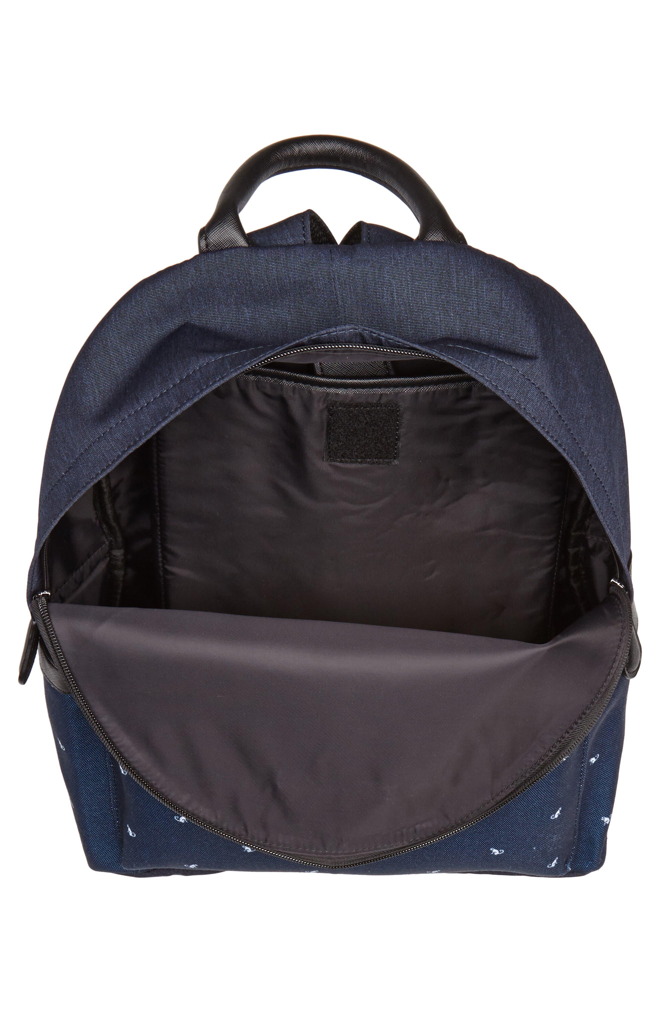 Mangoo Backpack,                             Alternate thumbnail 4, color,                             Navy
