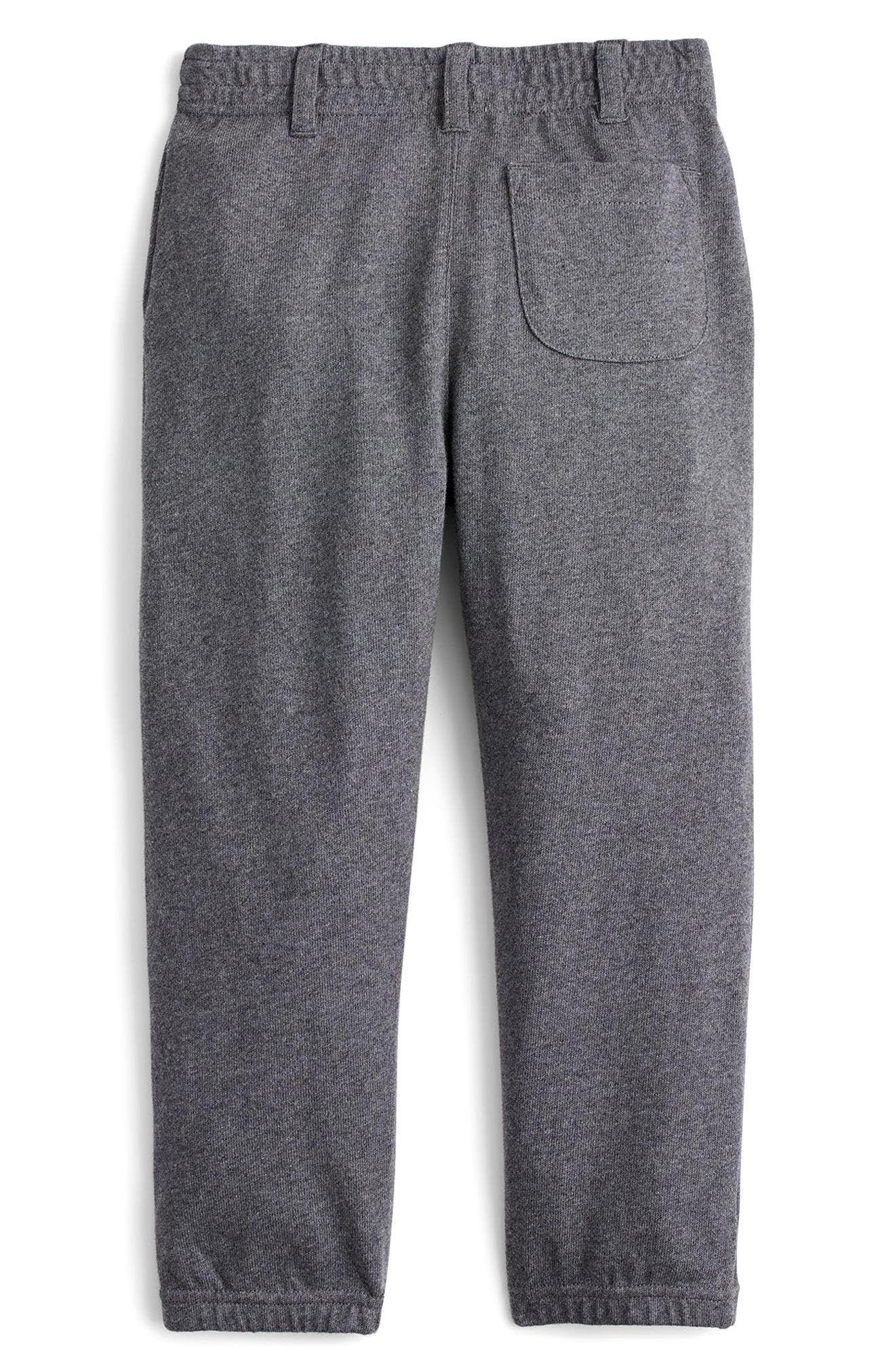 Trouser Sweatpants,                             Alternate thumbnail 2, color,                             Heather Charcoal