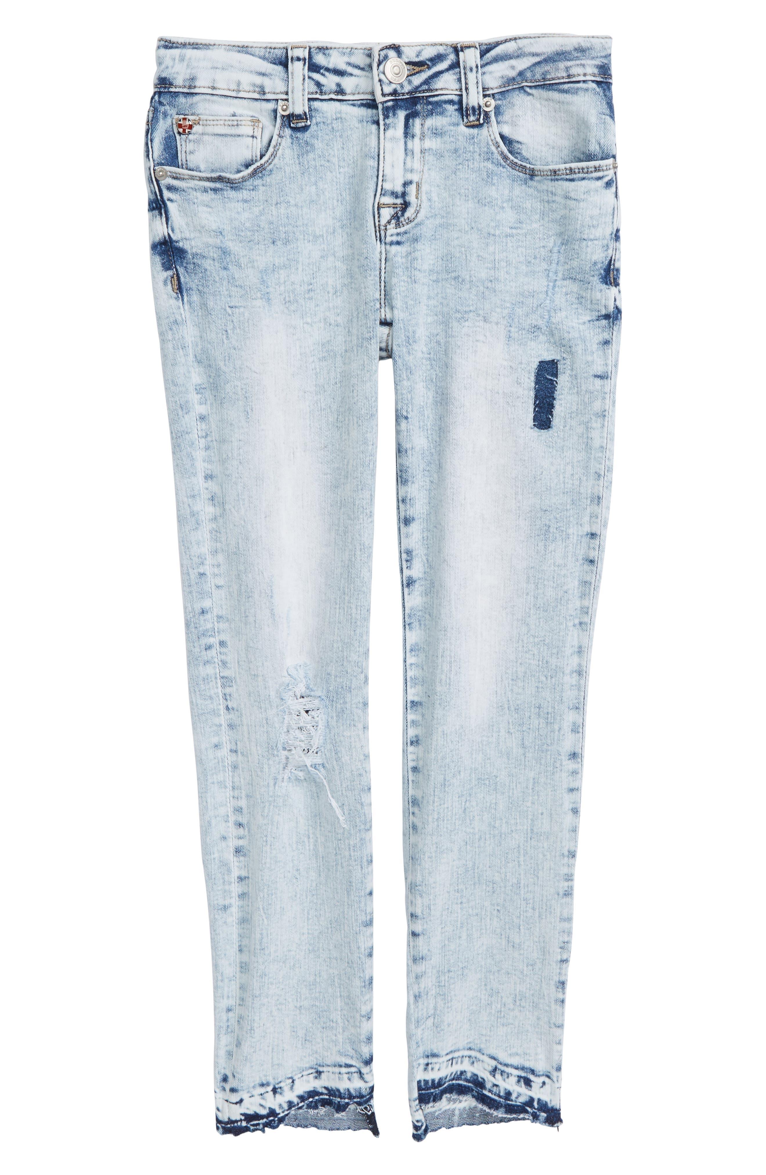 Vicky Crop Skinny Jeans,                             Main thumbnail 1, color,                             Iceberg Wash