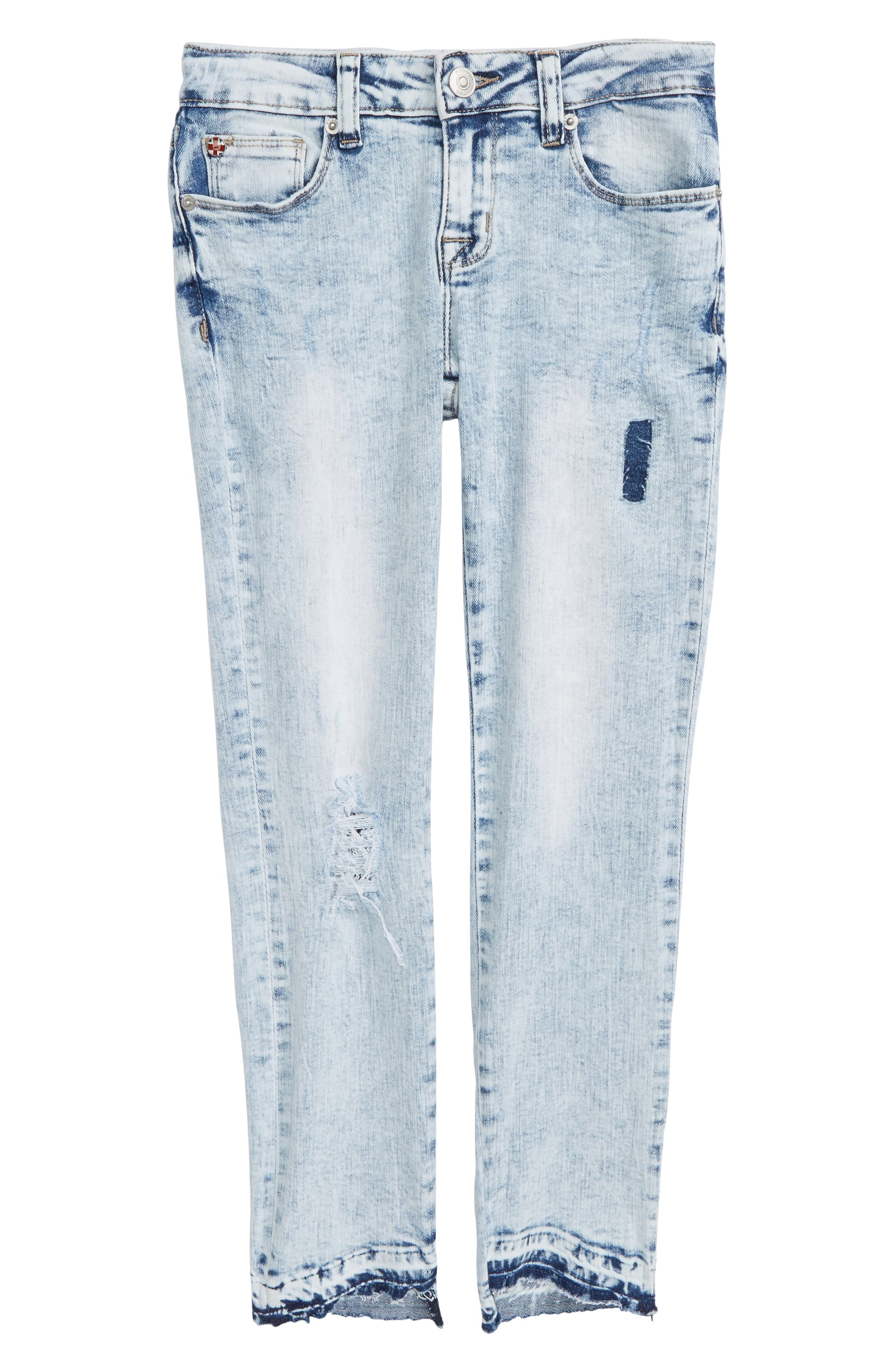 Hudson Kids Vicky Crop Skinny Jeans (Big Girls) (Iceberg)