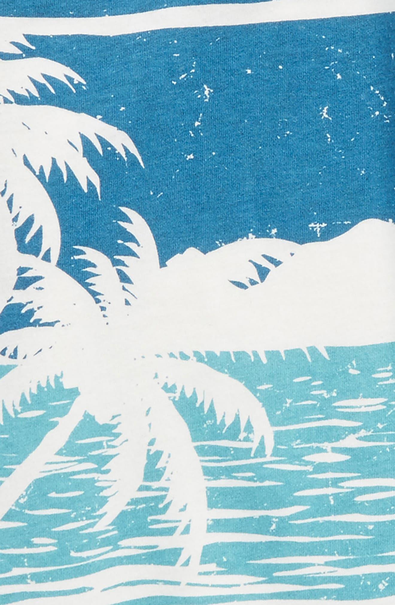 Alternate Image 2  - Chaser Ocean View Raglan T-Shirt (Toddler Boys, Little Boys & Big Boys)