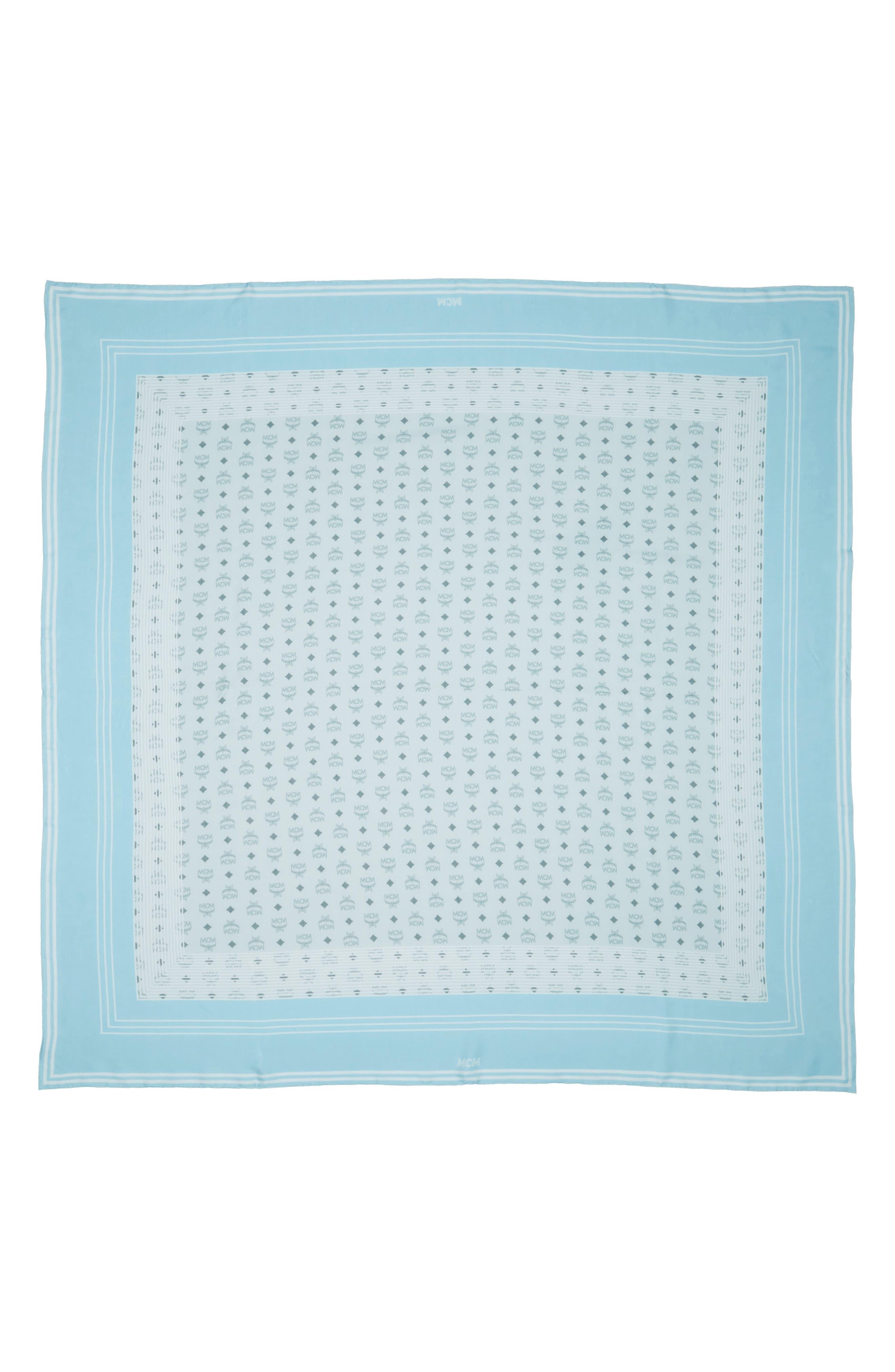 Visetos Stripe Modal & Silk Shawl,                             Main thumbnail 1, color,                             Sea Blue