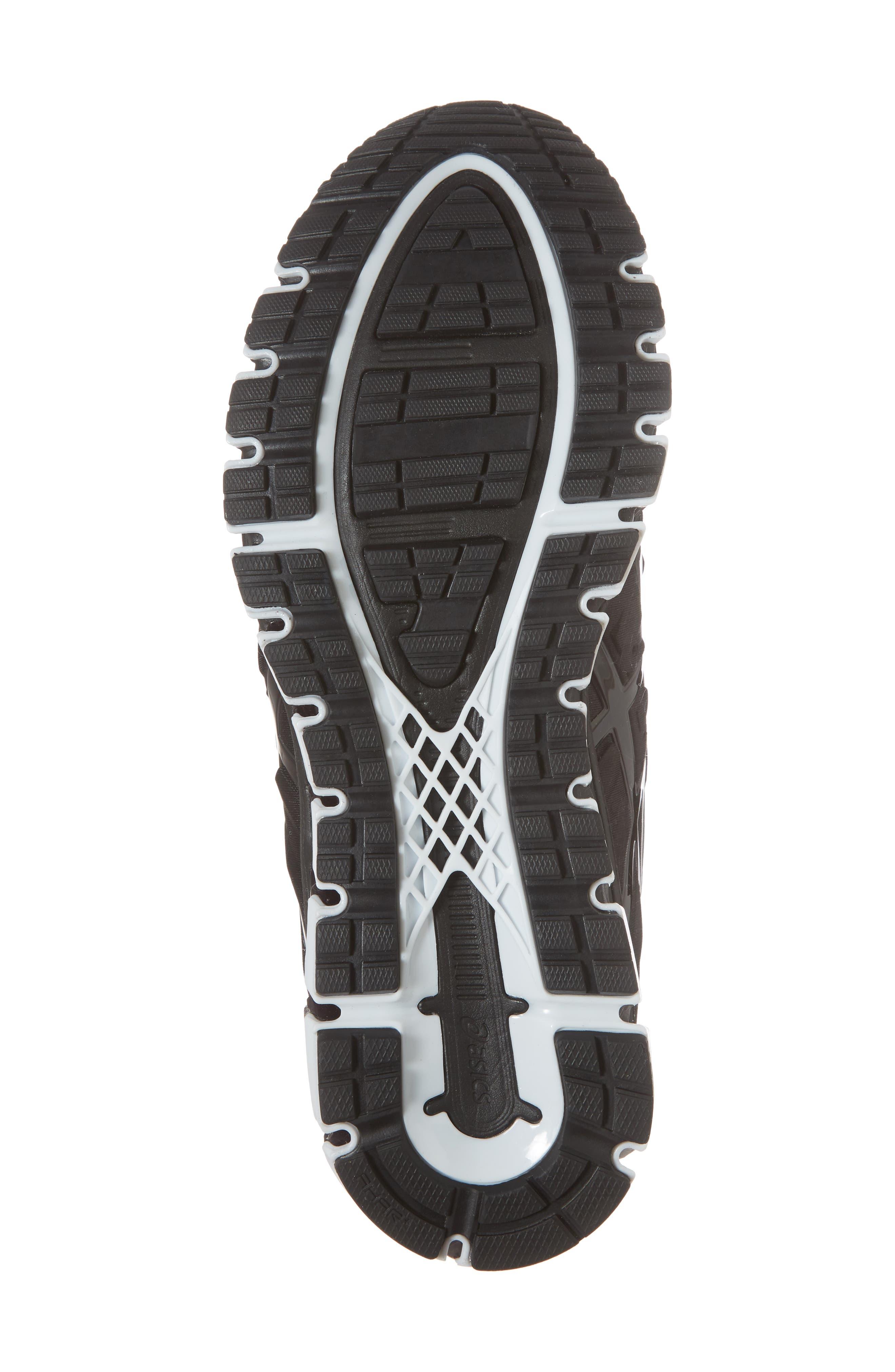 GEL-Quantum 180 2 MX Running Shoe,                             Alternate thumbnail 6, color,                             Phantom/ Black/ White