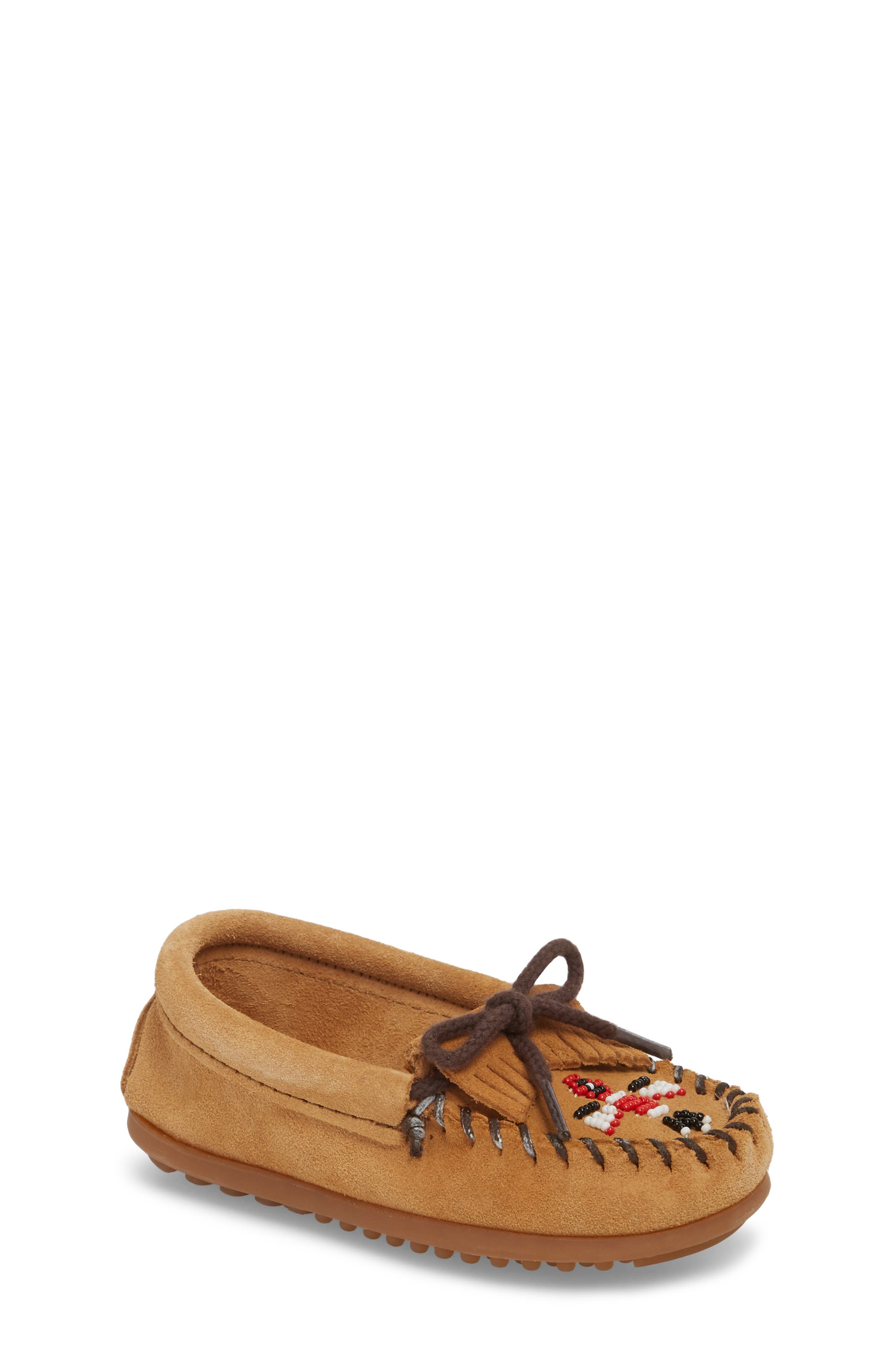 'Thunderbird' Moccasin,                         Main,                         color, Taupe