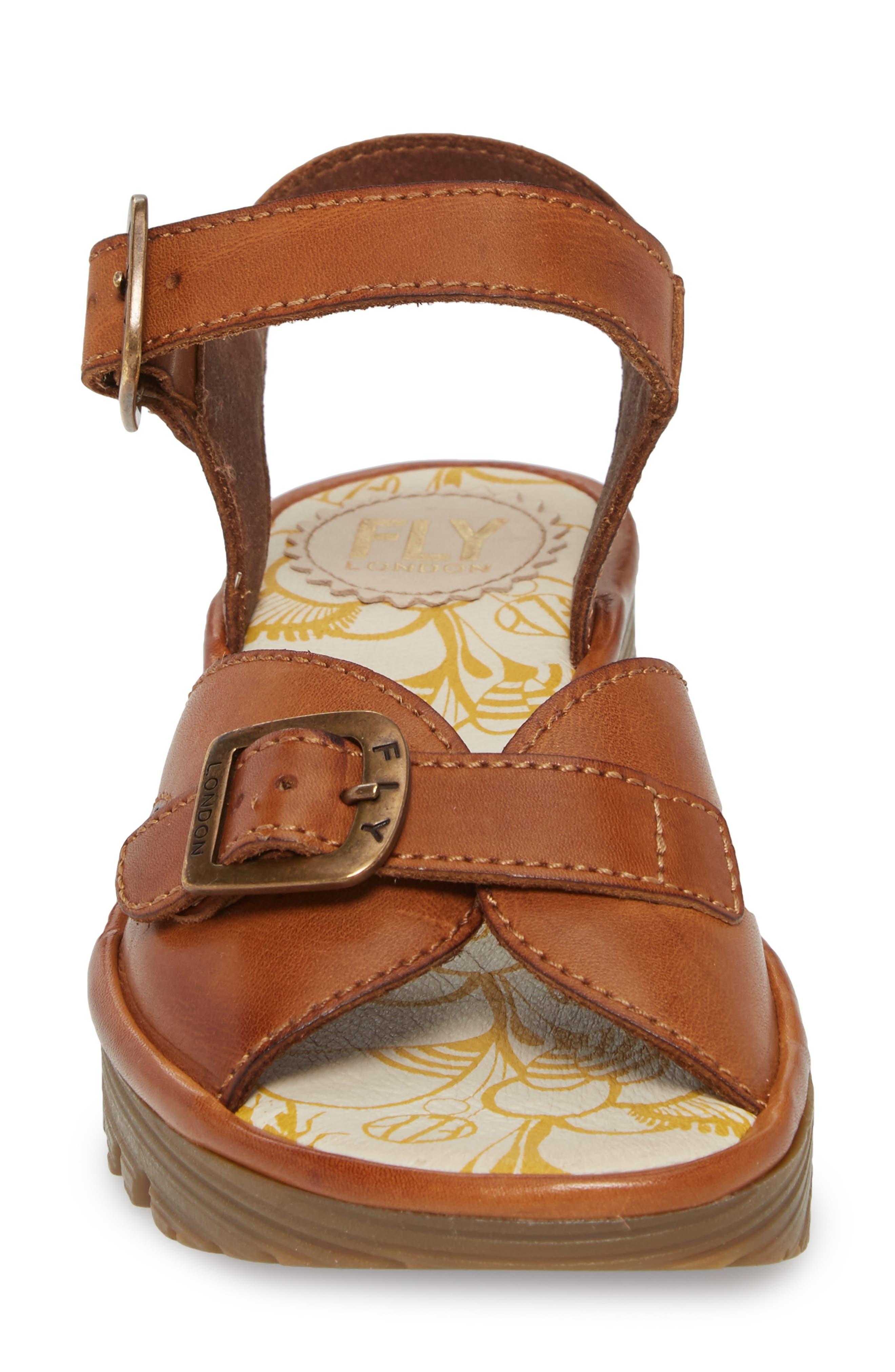 Egal Sandal,                             Alternate thumbnail 4, color,                             Tan Colmar Leather