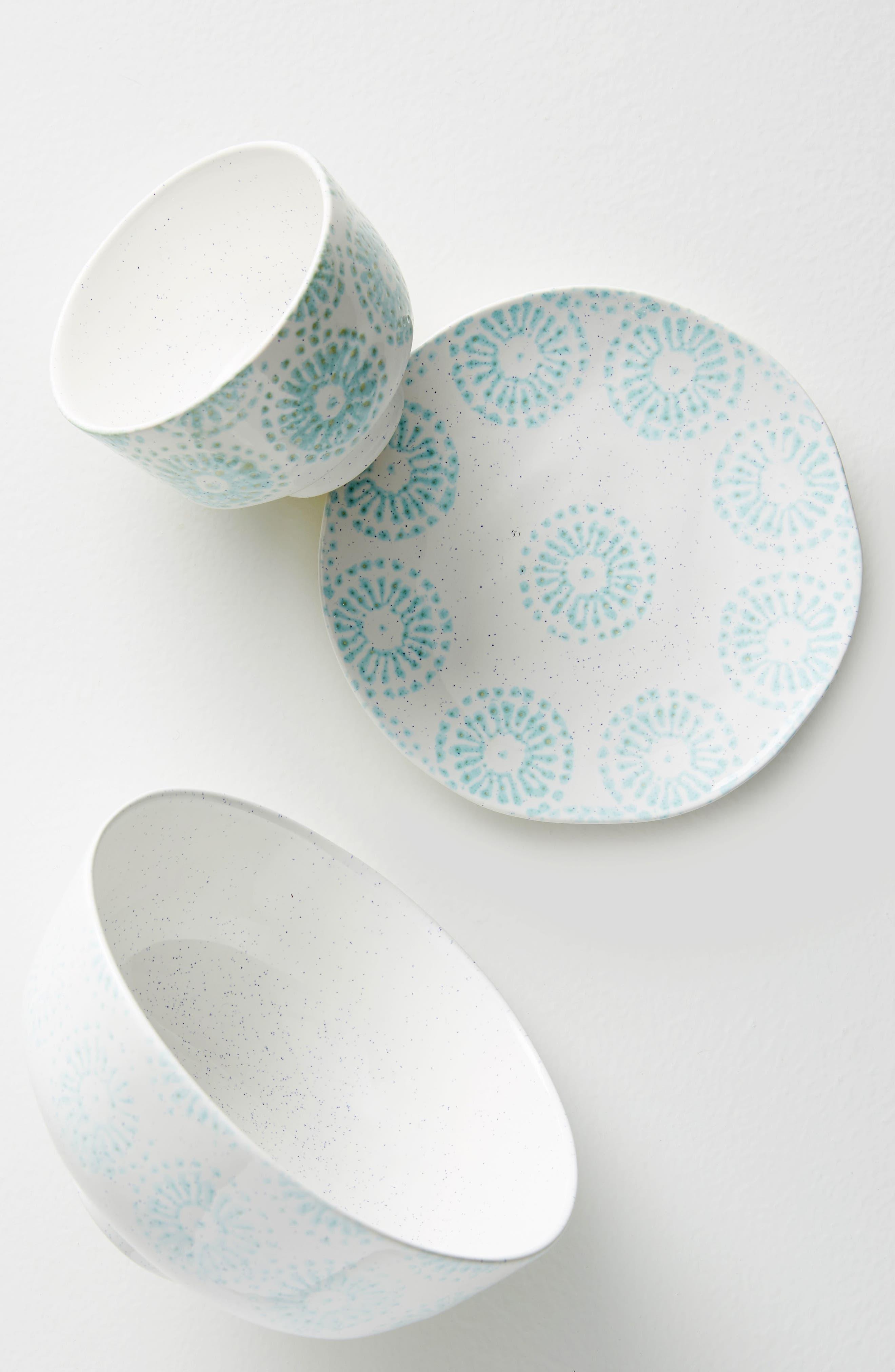 Tacola Bowl,                             Alternate thumbnail 3, color,                             Turquoise