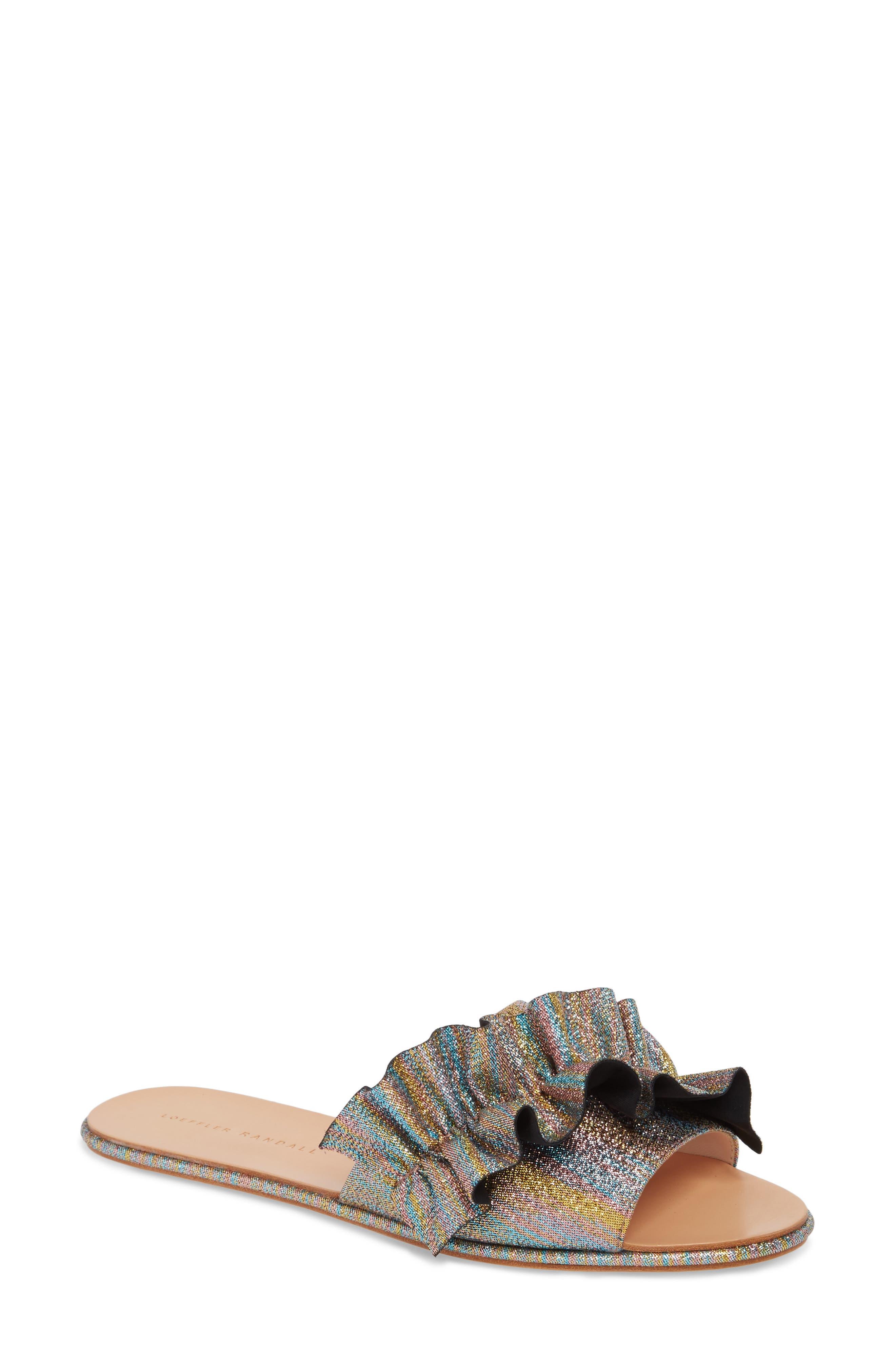 Loeffler Randall Rey Slide Sandal (Women)
