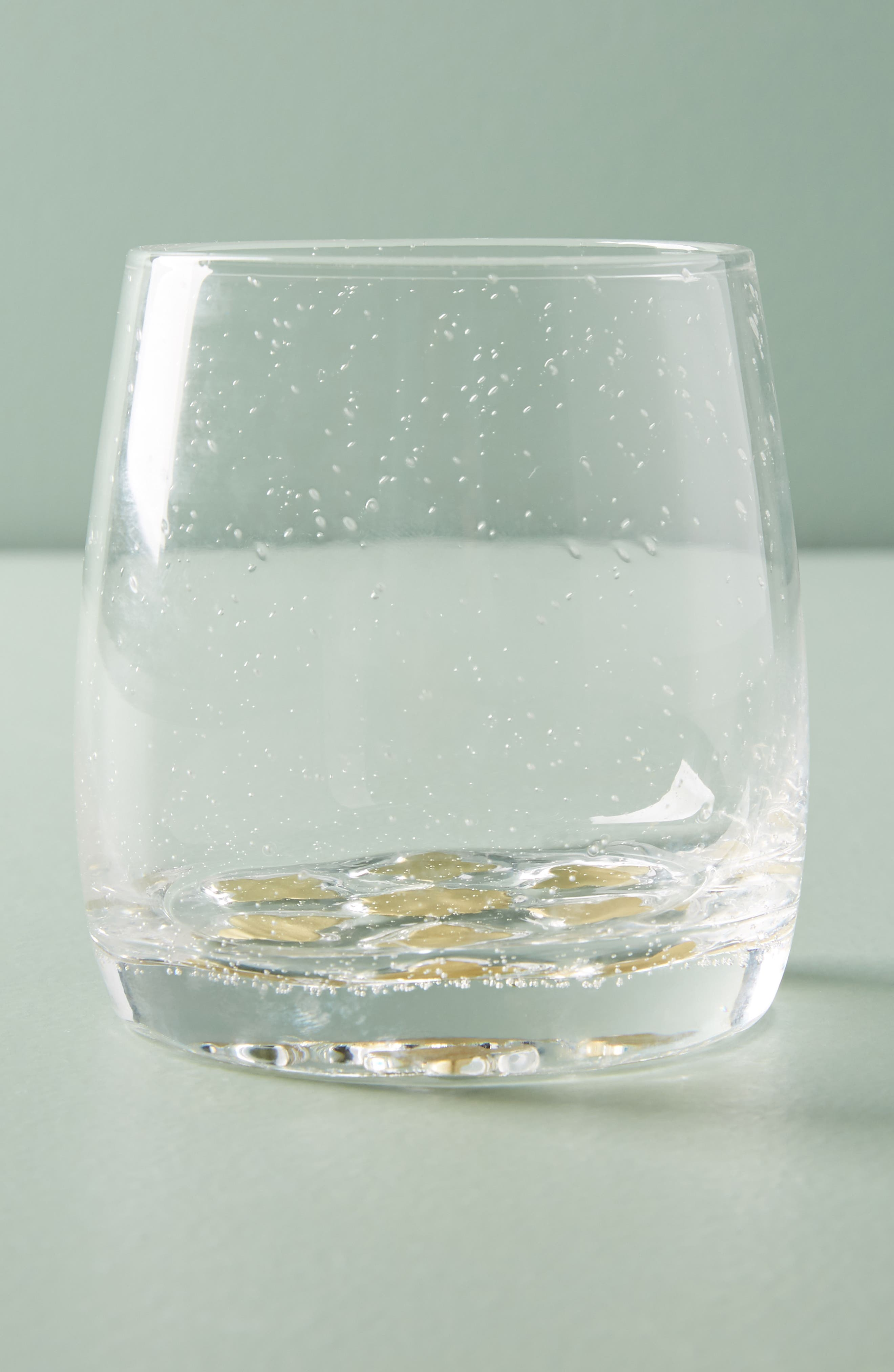 Bella Double Old-Fashioned Glass,                             Main thumbnail 1, color,                             Gold