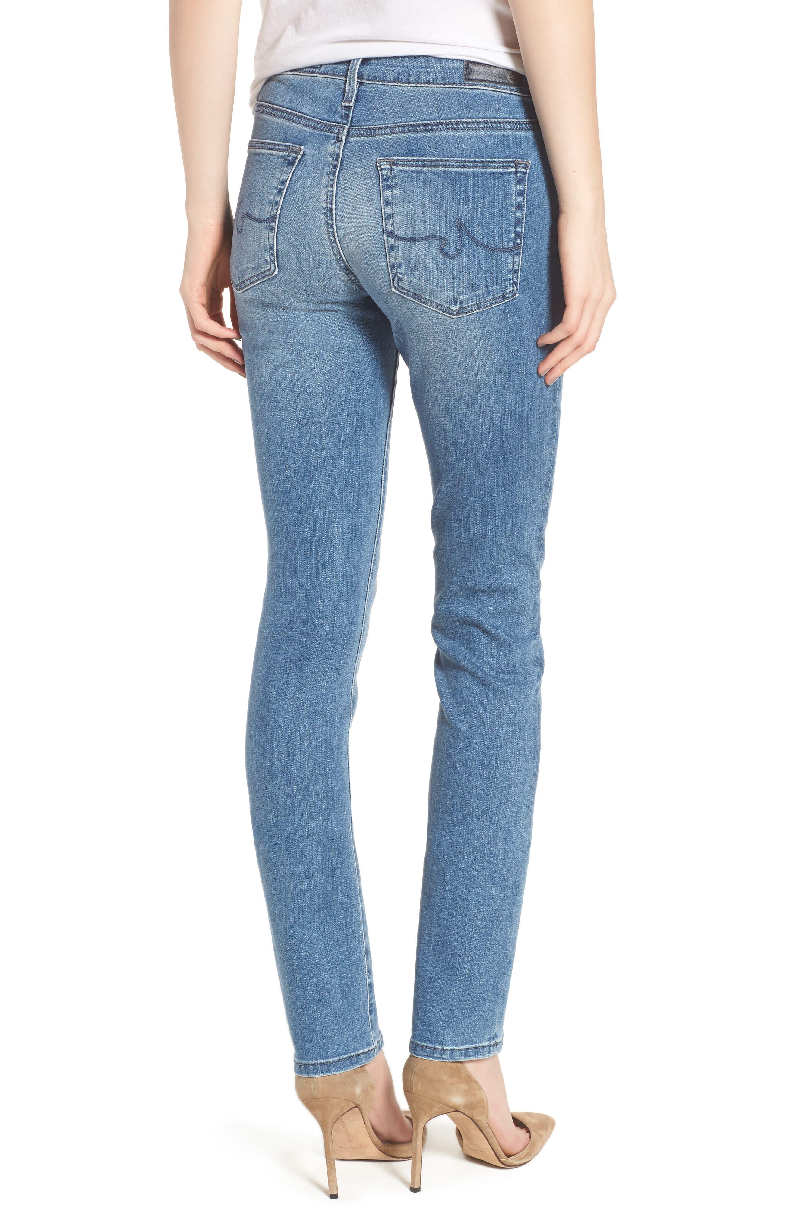 Harper Slim Straight Leg Jeans,                             Alternate thumbnail 2, color,                             Sea Sprite