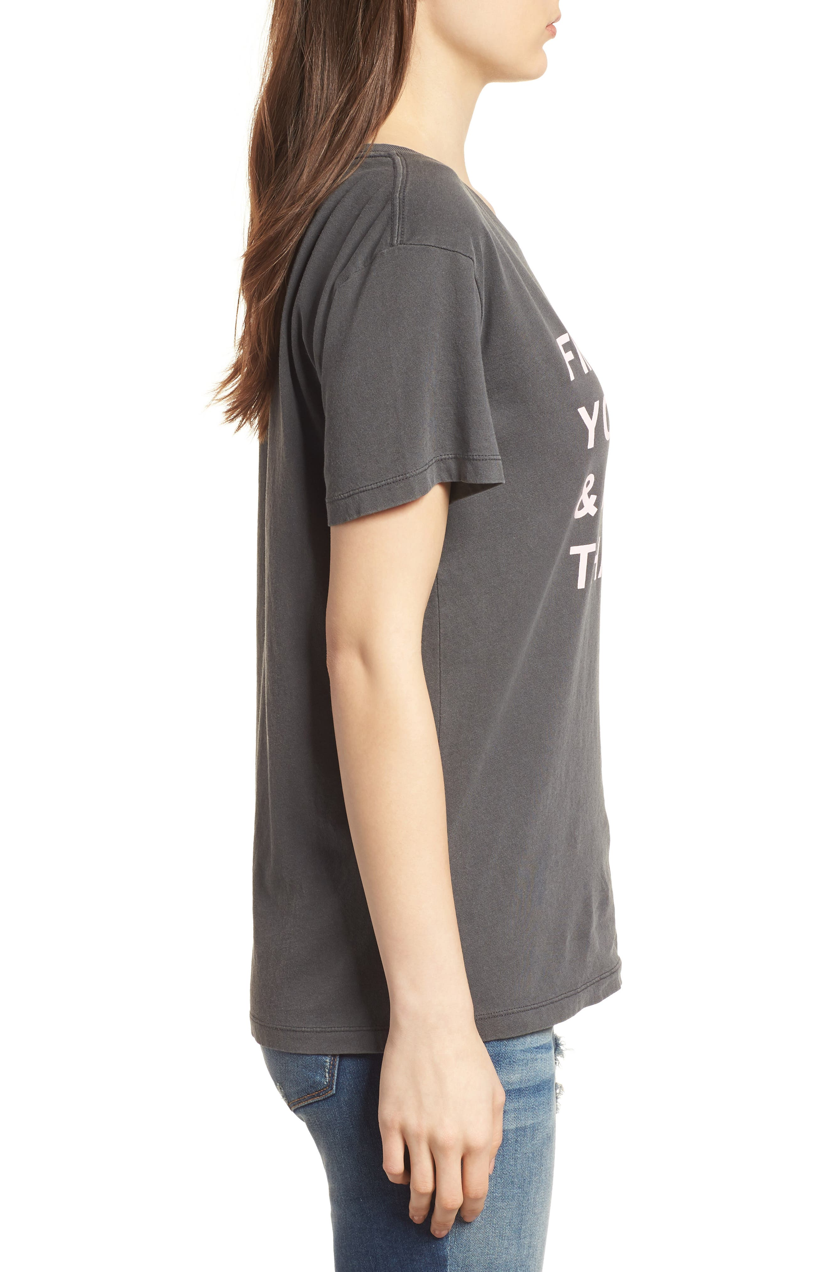 Find What You Love Tee,                             Alternate thumbnail 3, color,                             Washed Black
