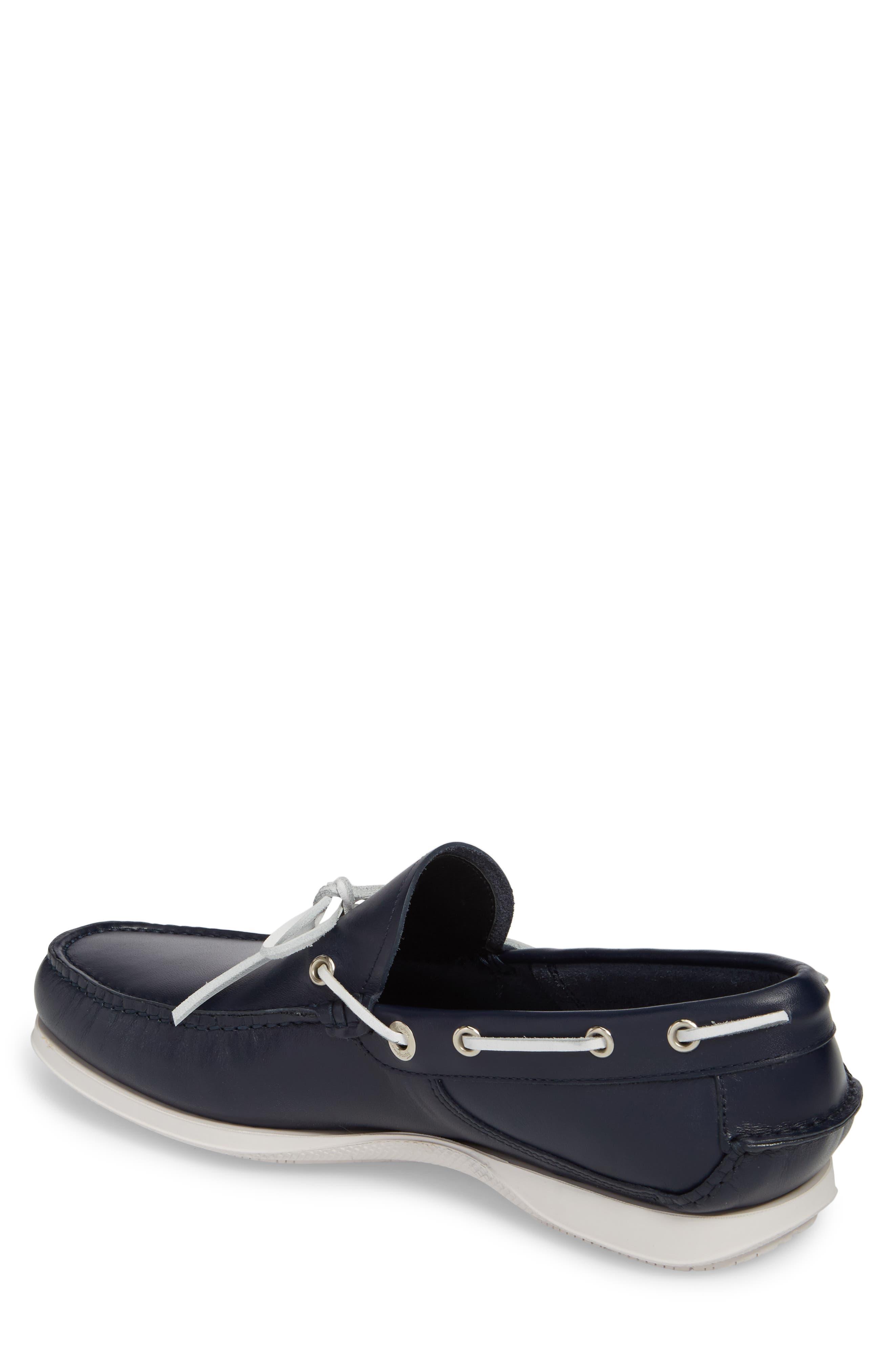 Caraibi Boat Shoe,                             Alternate thumbnail 2, color,                             Blue Marine