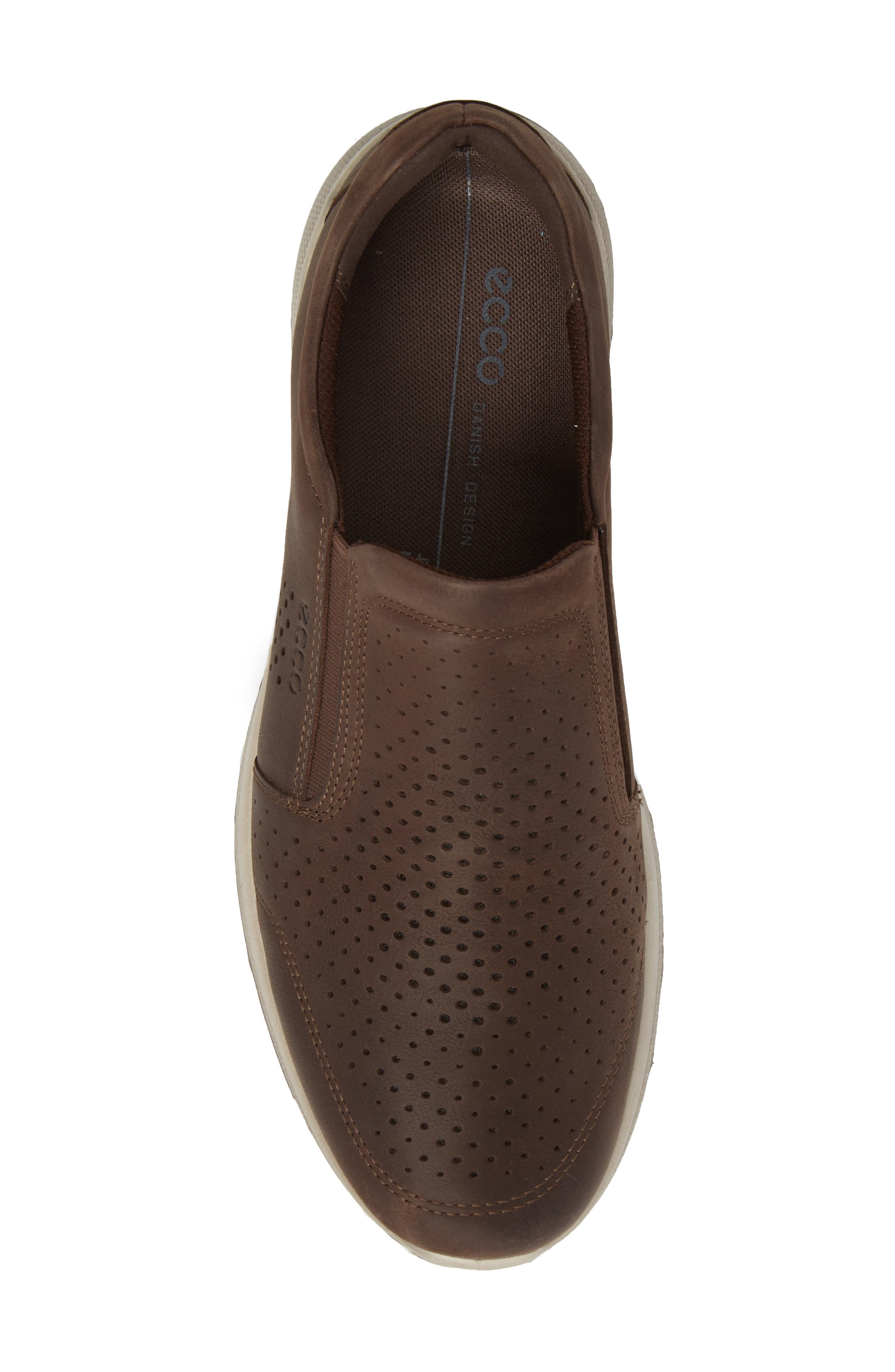 Irving Slip-On,                             Alternate thumbnail 5, color,                             Coffee Leather