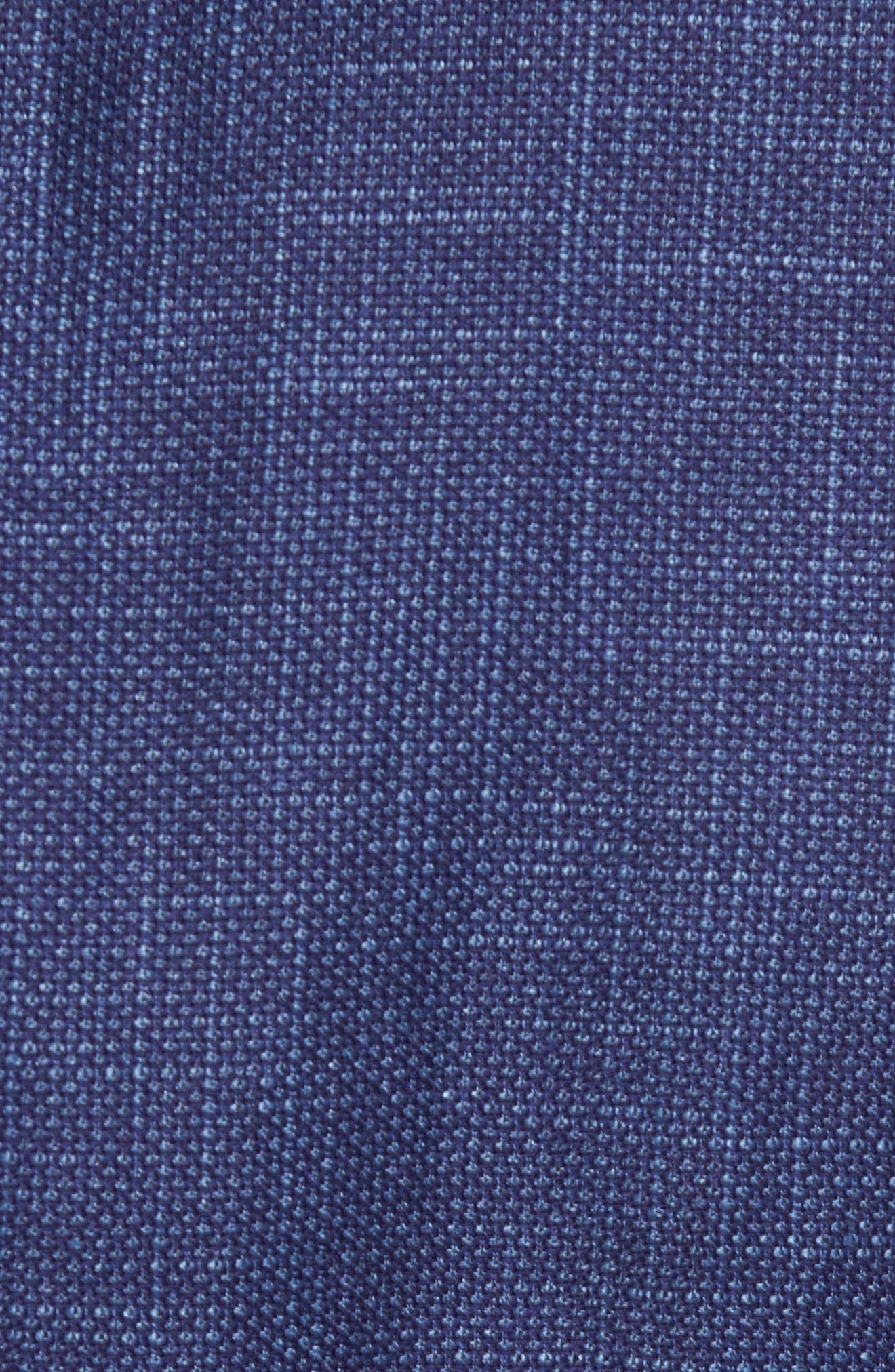 Jay Trim Fit Linen & Wool Blazer,                             Alternate thumbnail 5, color,                             Blue
