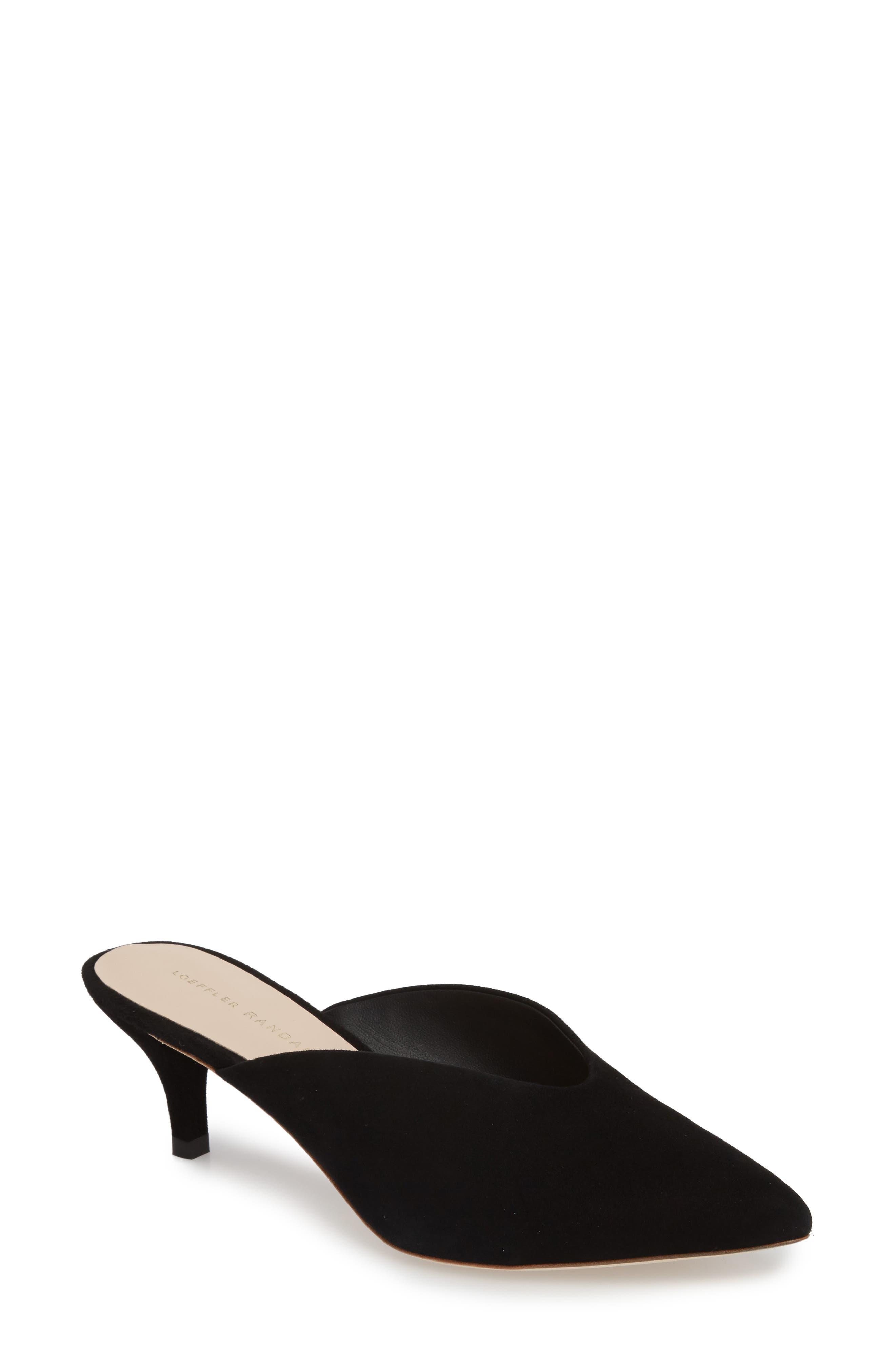Juno Mule,                         Main,                         color, Black