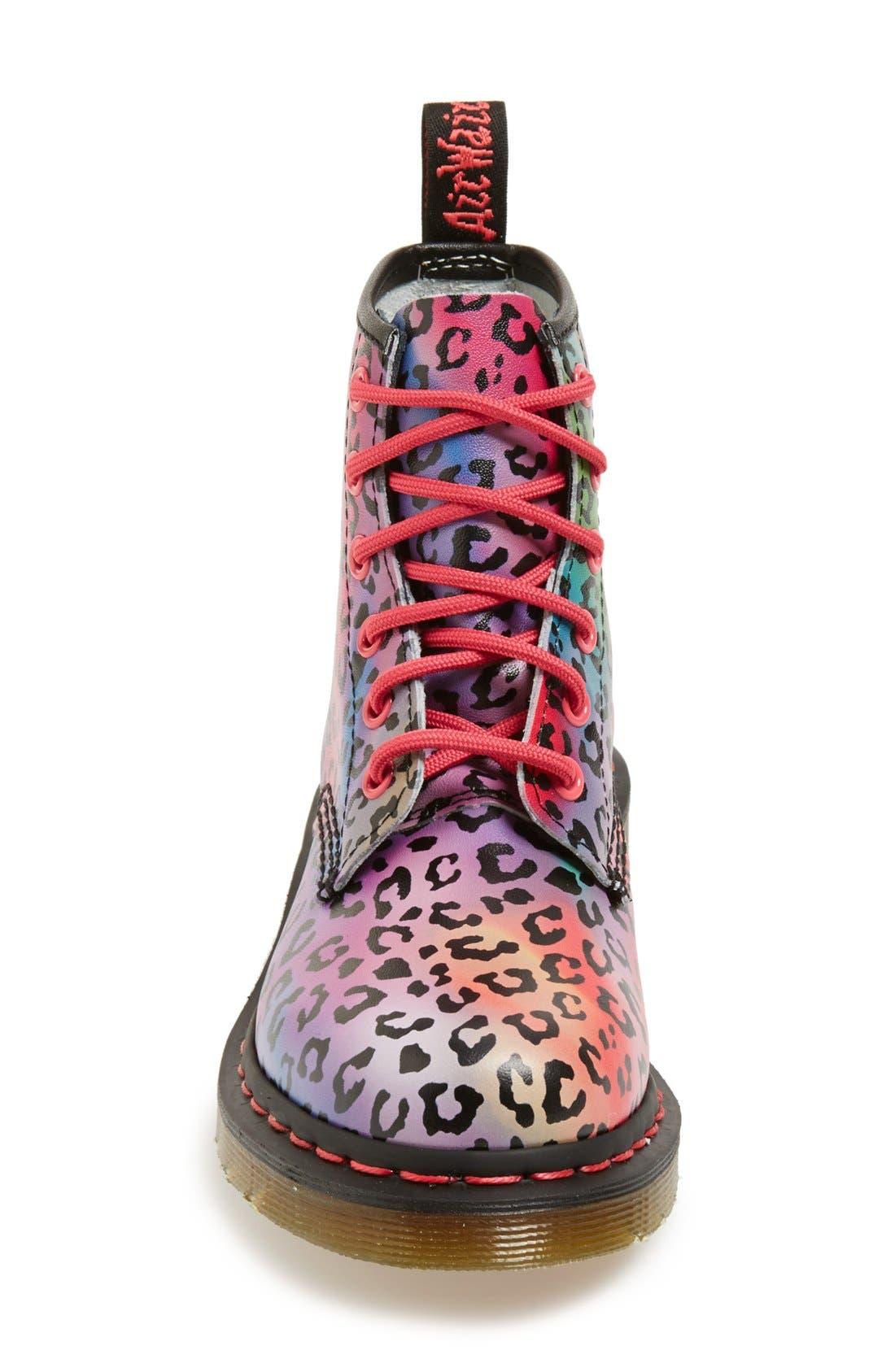Alternate Image 3  - Dr. Martens '101' Leopard Print Leather Boot (Women)