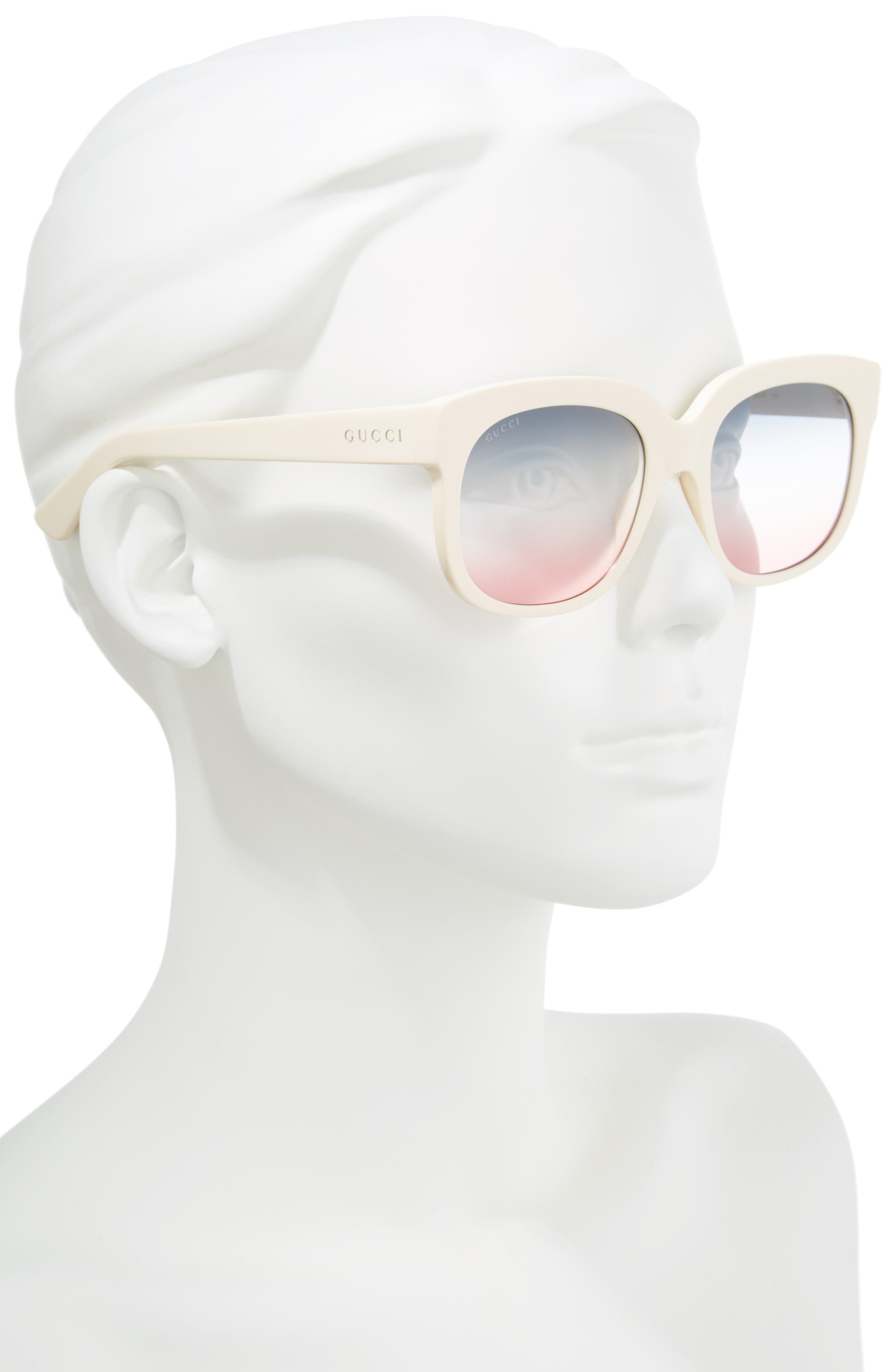 Women\'s Gucci Cat-Eye Sunglasses | Nordstrom