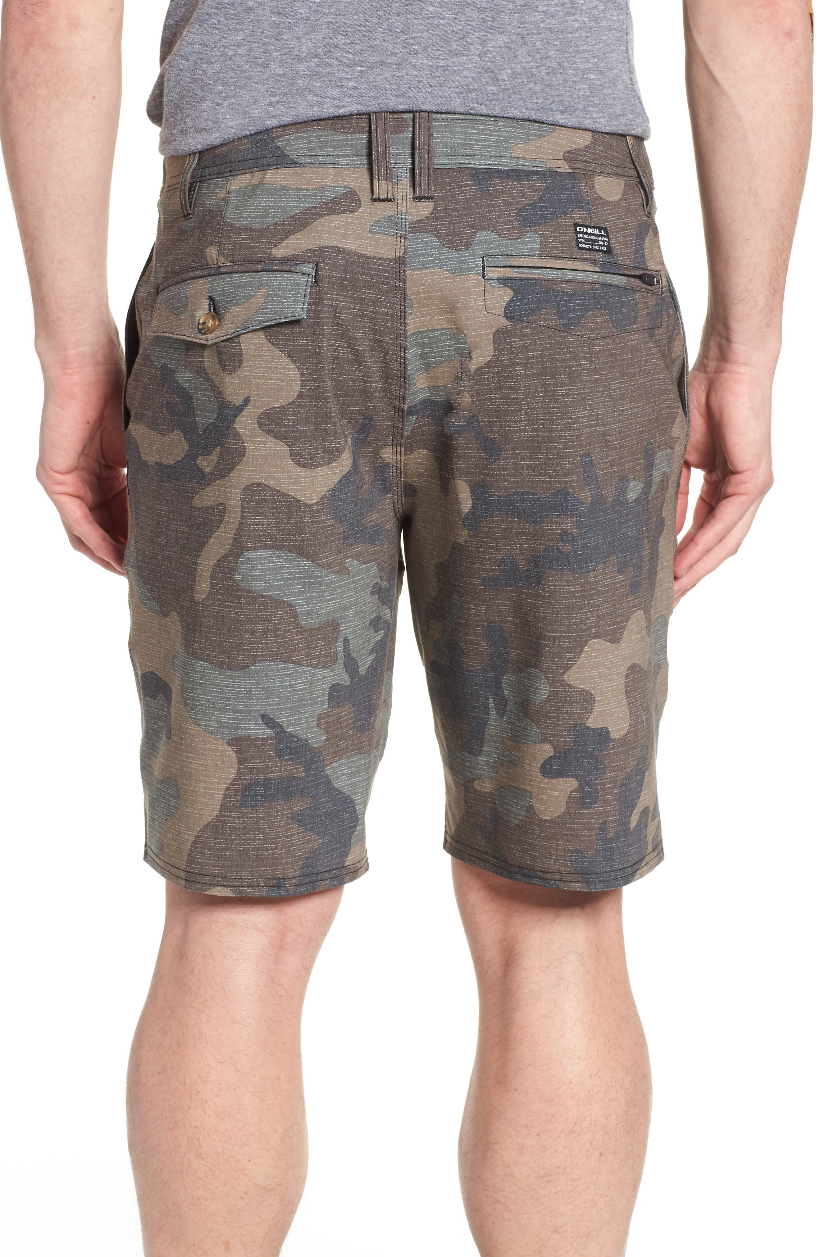 Mixed Hybrid Shorts,                             Alternate thumbnail 2, color,                             Camo
