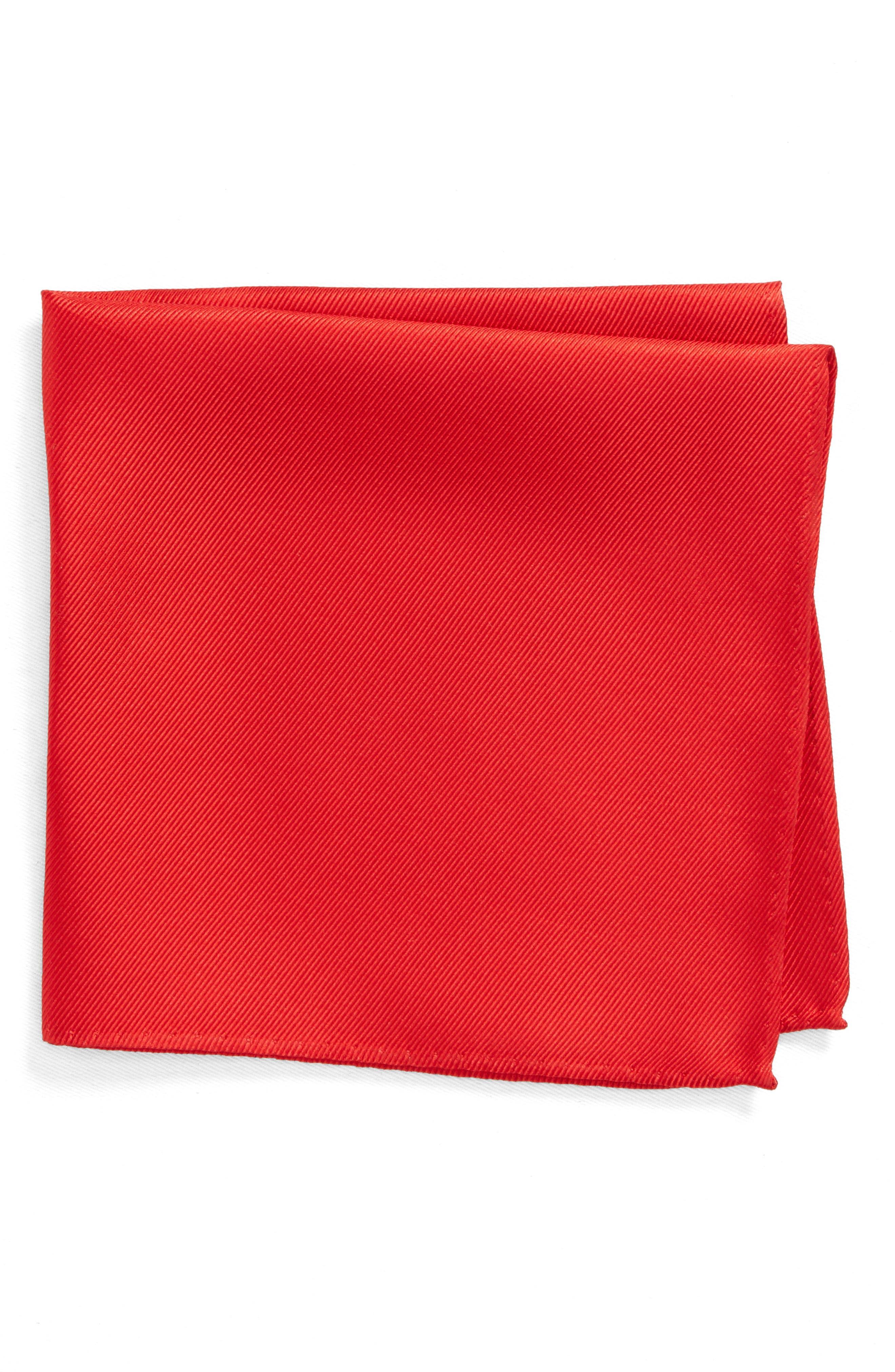 Alternate Image 1 Selected - Nordstrom Men's Shop King Twill Silk Pocket Square