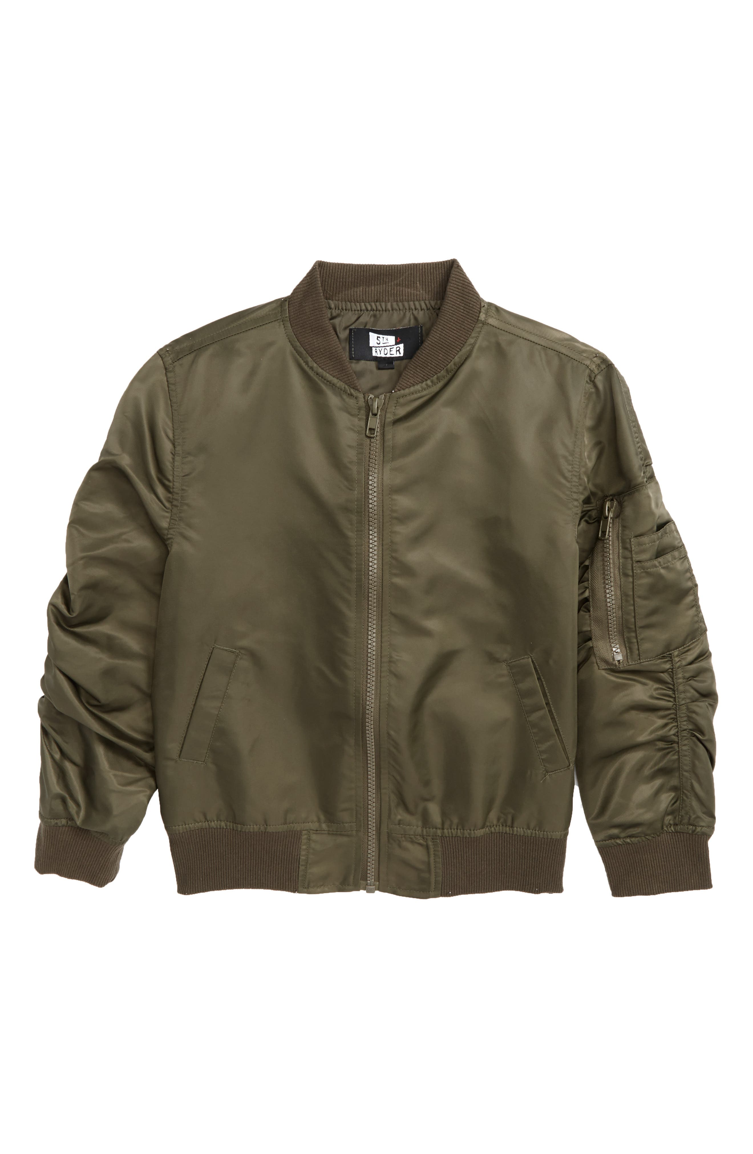5th and Ryder Bomber Jacket (Little Boys & Big Boys)