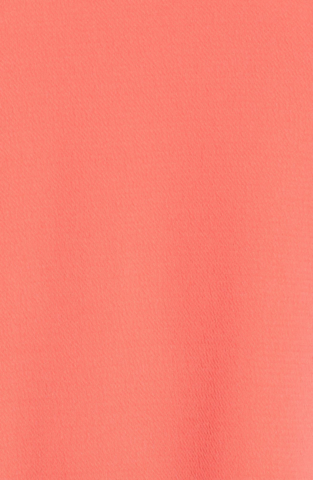 Alternate Image 5  - Chelsea28 Ruffle Bell Sleeve Shift Dress (Plus Size)