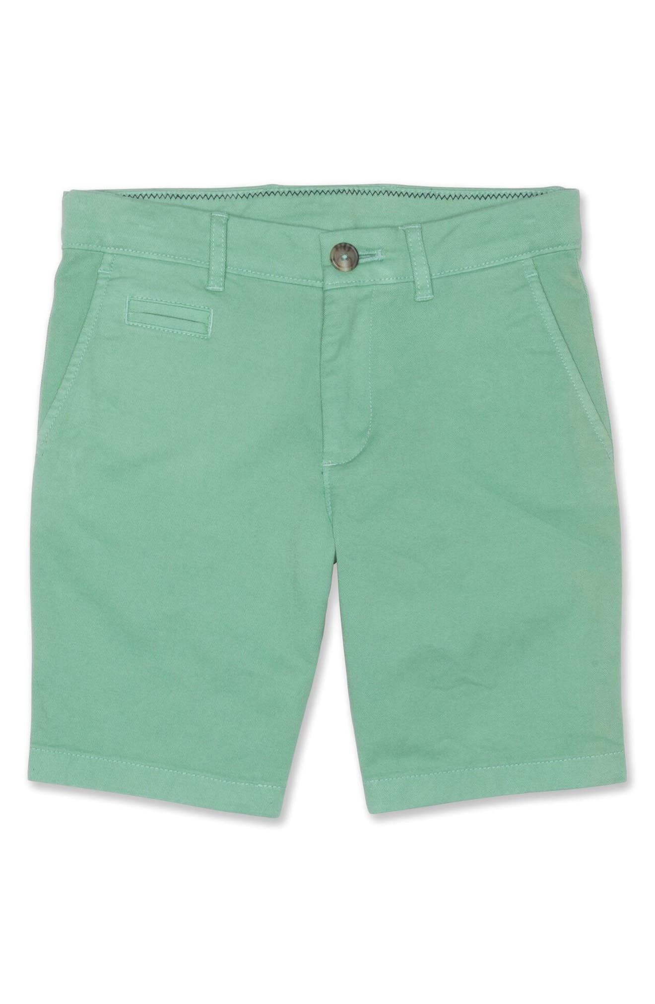 johnnie-o Neal Cotton Twill Shorts (Little Boys)