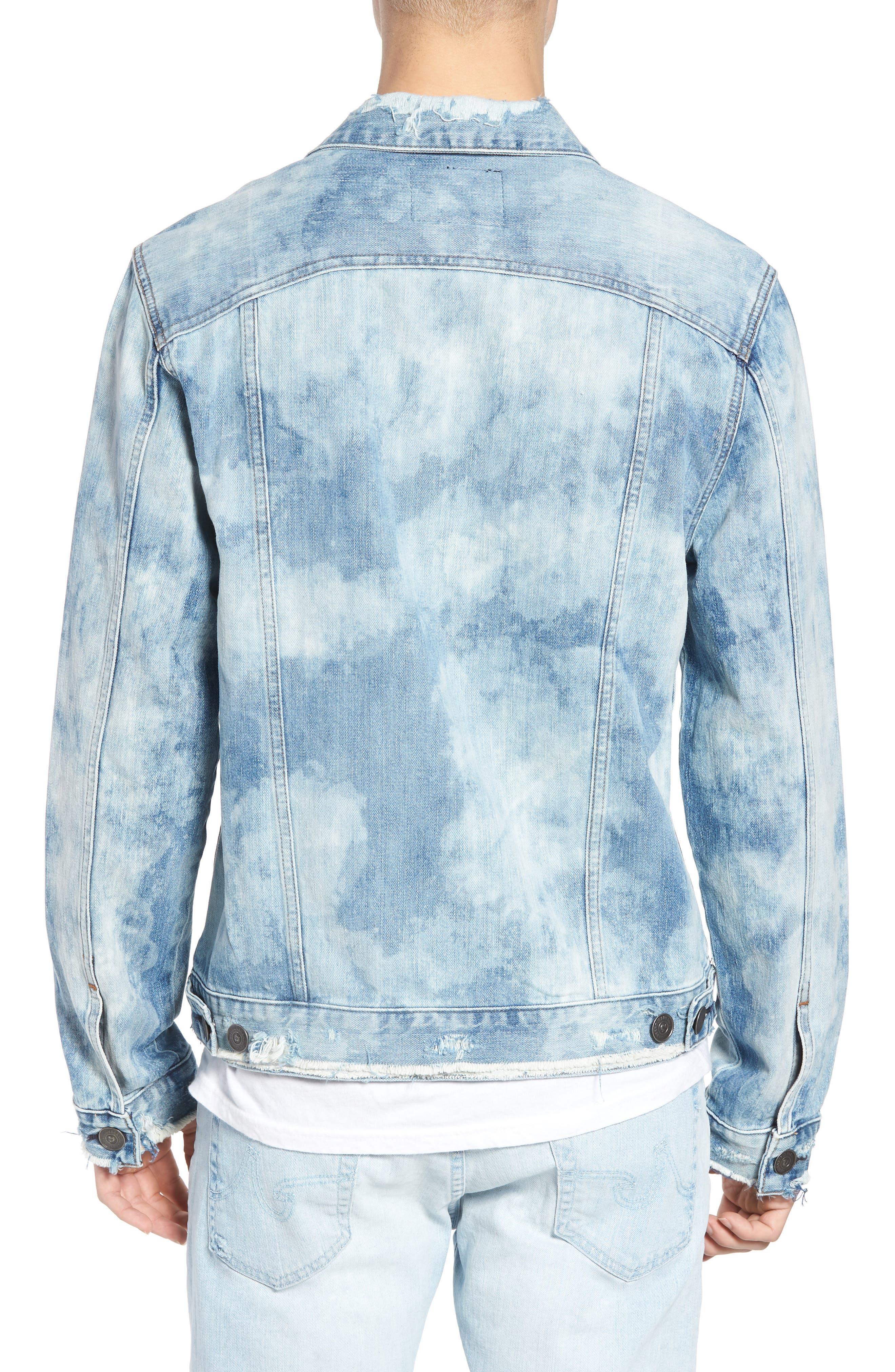 Dylan Denim Jacket,                             Alternate thumbnail 2, color,                             Blue