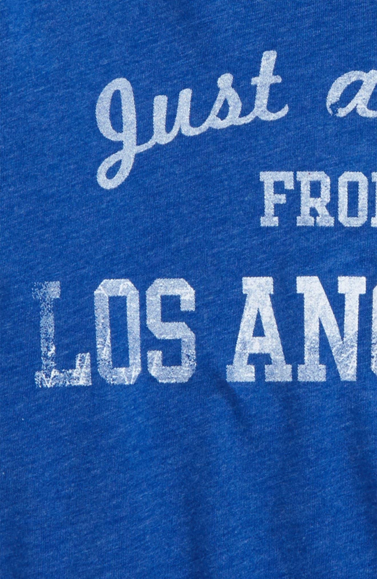 Alternate Image 2  - 7th Inning Stretch Just a Kid from Los Angeles Graphic T-Shirt (Little Boys & Big Boys)