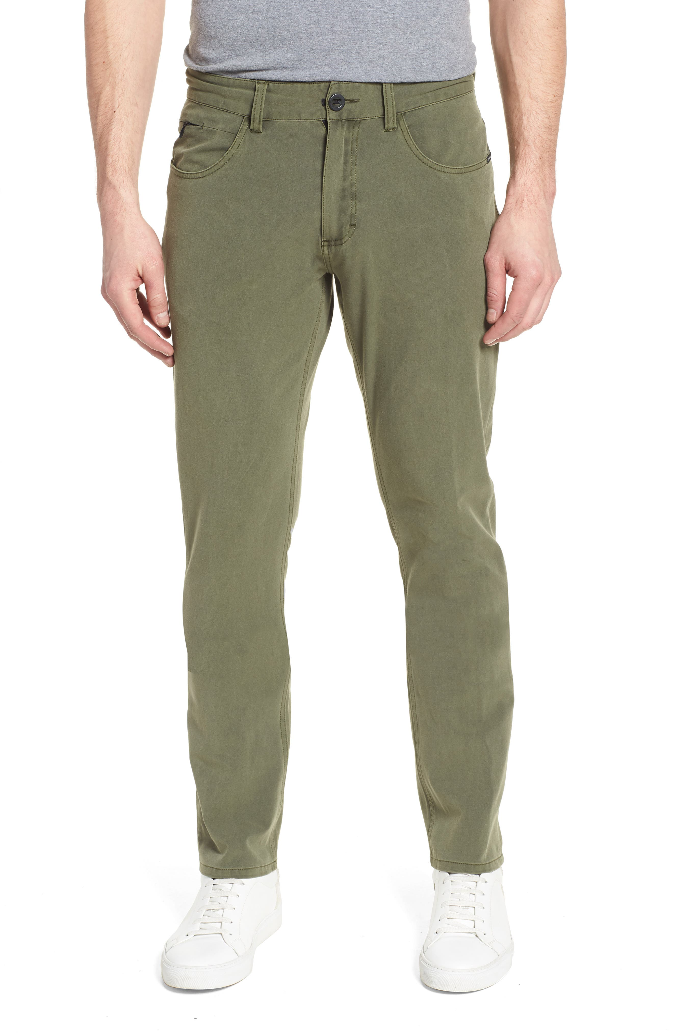 Venture Slim Fit Hybrid Pants,                             Main thumbnail 1, color,                             Army